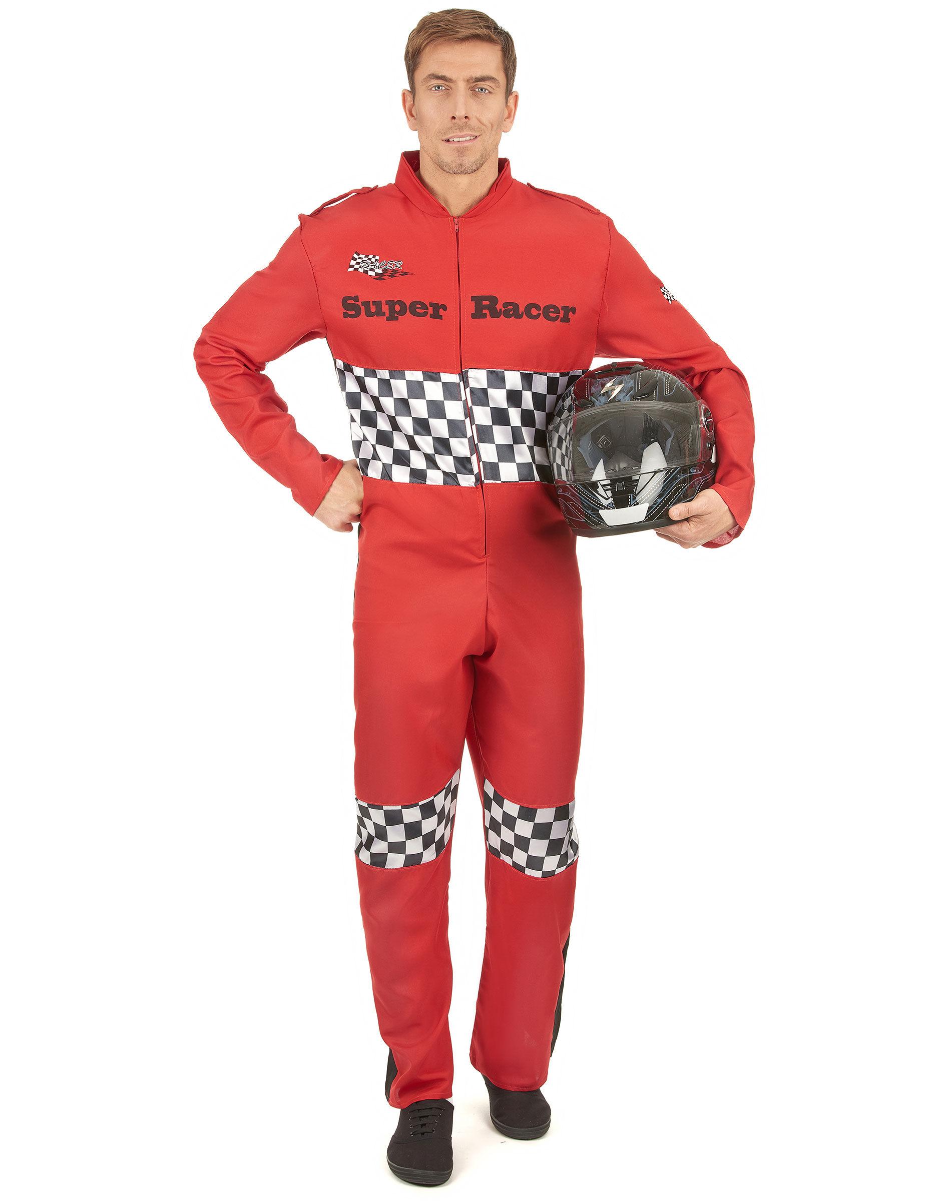 Deguisetoi Déguisement pilote de course homme - Taille: L