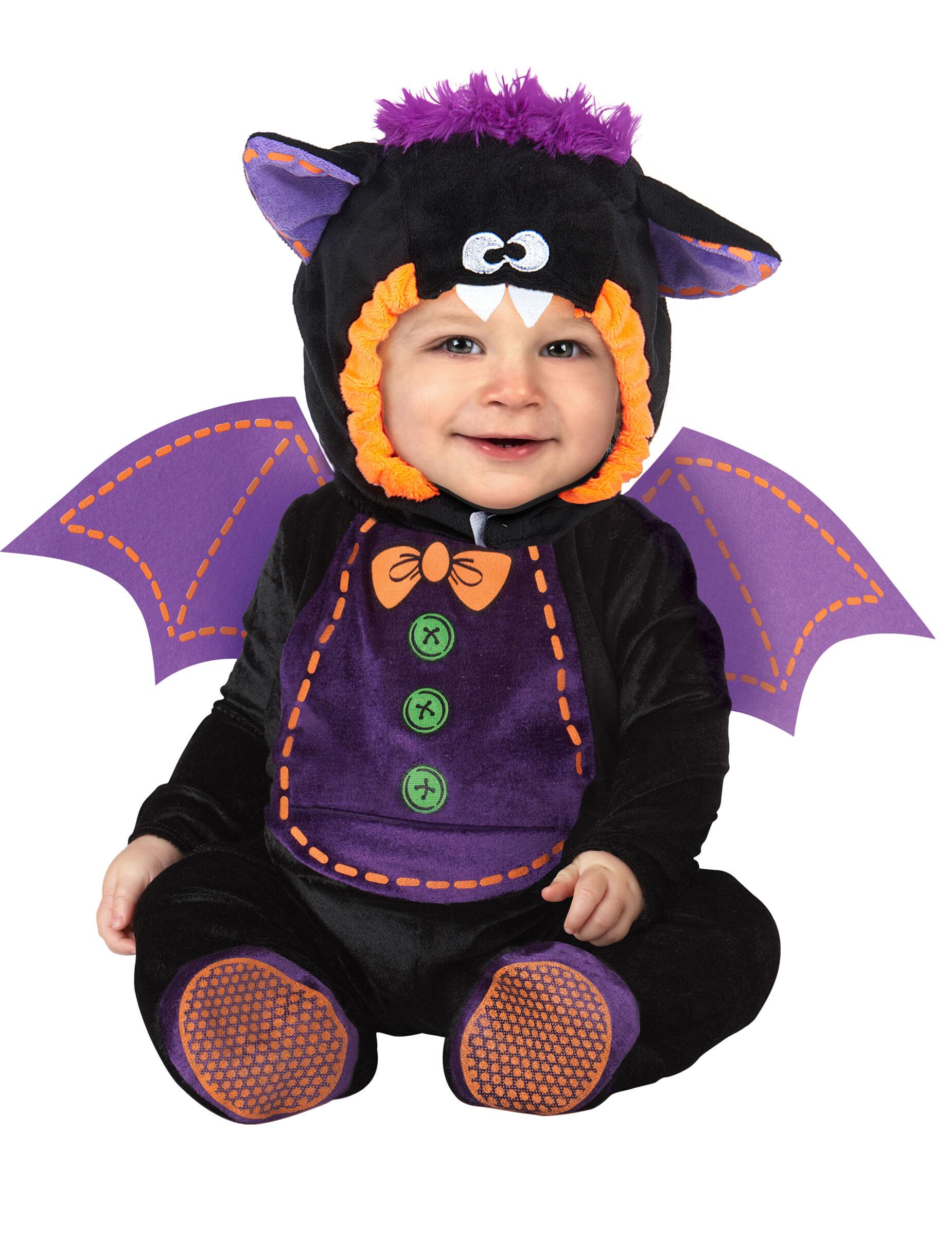 Deguisetoi Déguisement Chauve-souris pour bébé - Classique - Taille: 6-12 mois (66-74 cm)