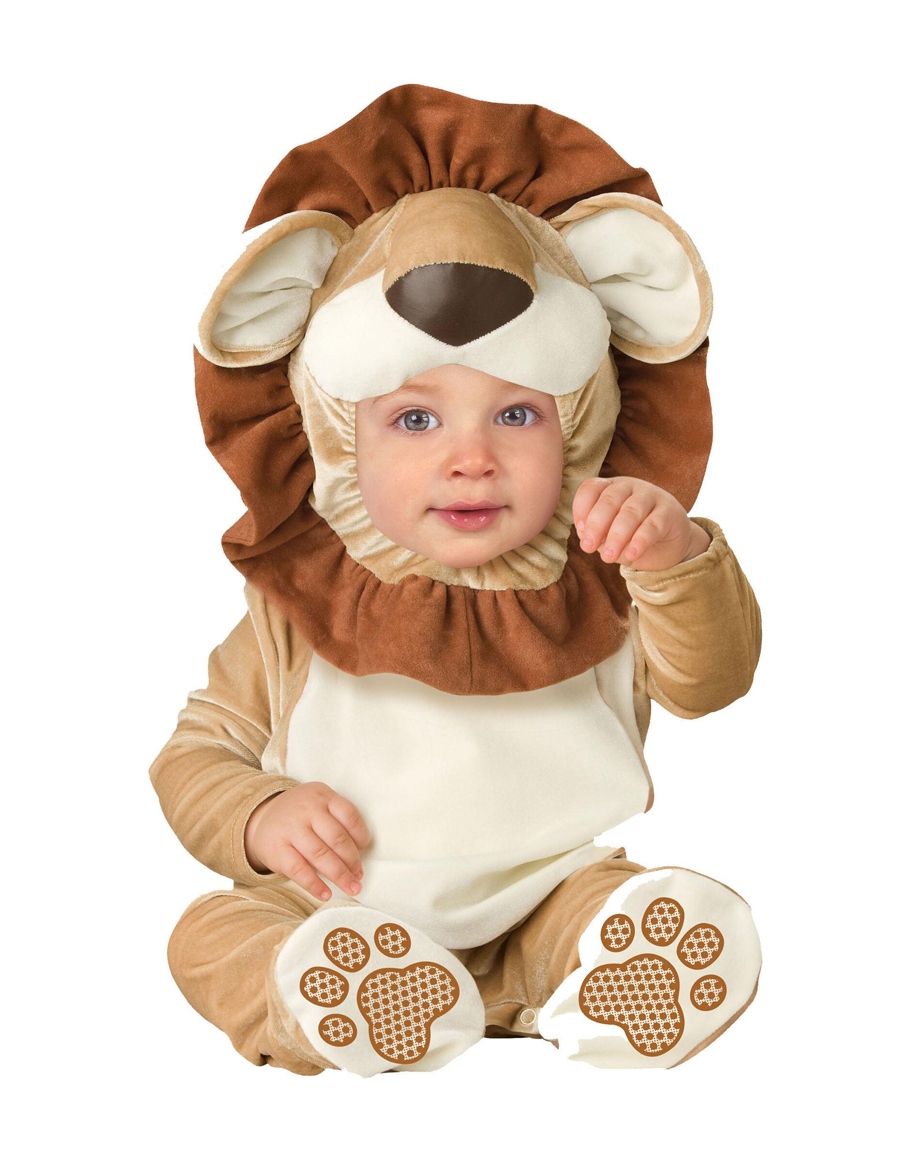 Deguisetoi Déguisement Lion pour bébé - Classique - Taille: 0-6 mois (58-66 cm)