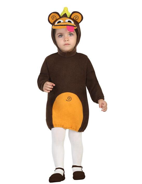 Deguisetoi Déguisement robe singe bébé - Taille: 6 à 12 mois