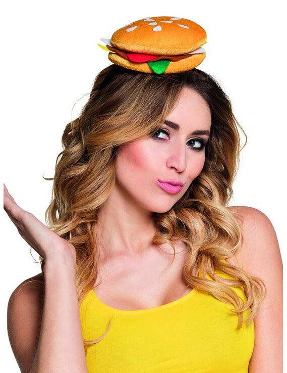 Deguisetoi Chapeau hamburger adulte