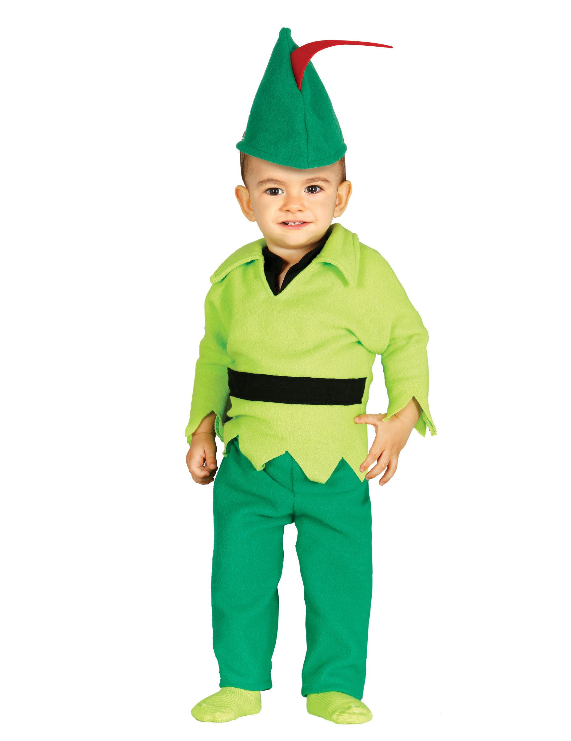 Deguisetoi Déguisement petit homme des bois bébé - Taille: 6 à 12 mois (82-83 cm)