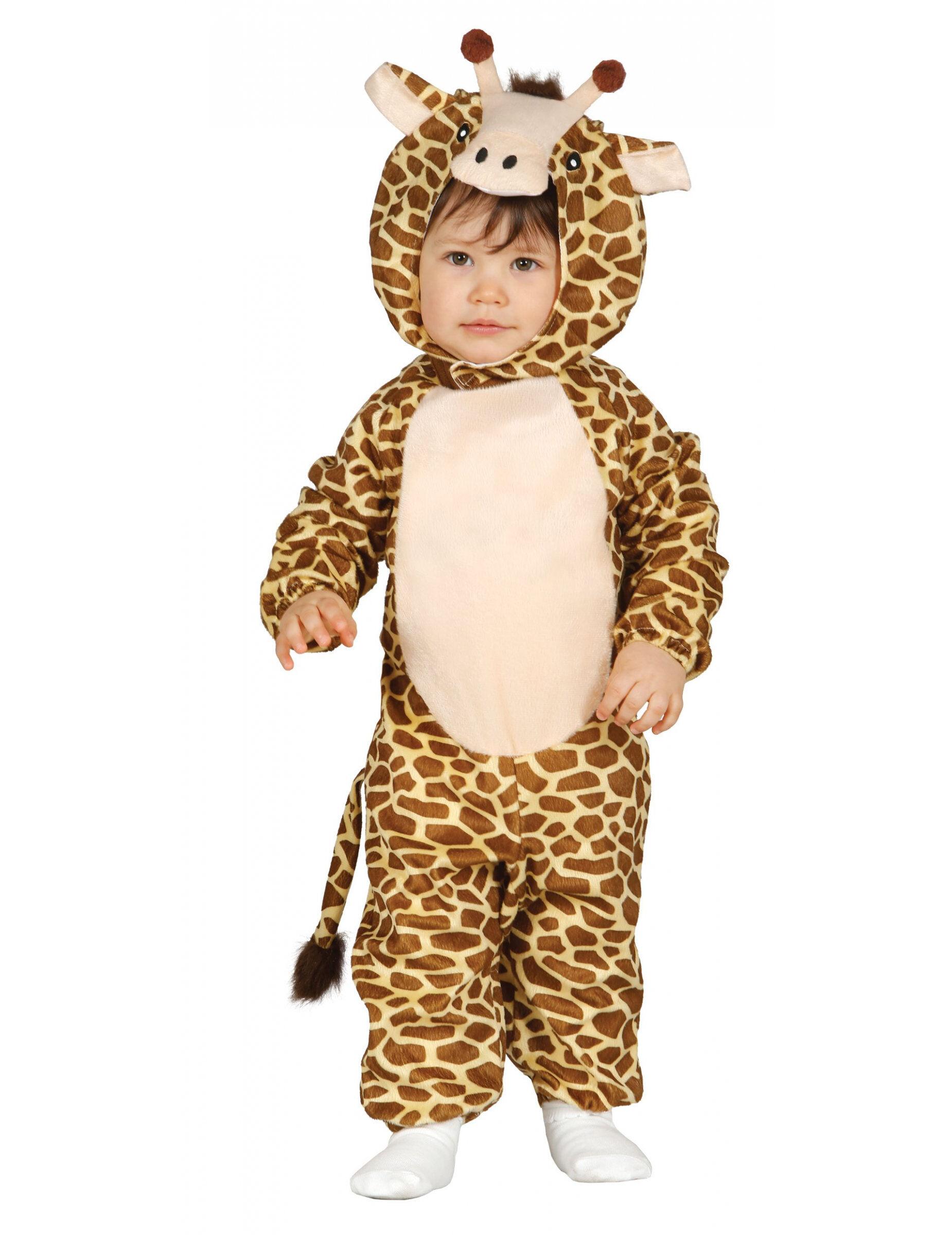 Deguisetoi Déguisement girafe bébé - Taille: 6 à 12 mois (82-83 cm)