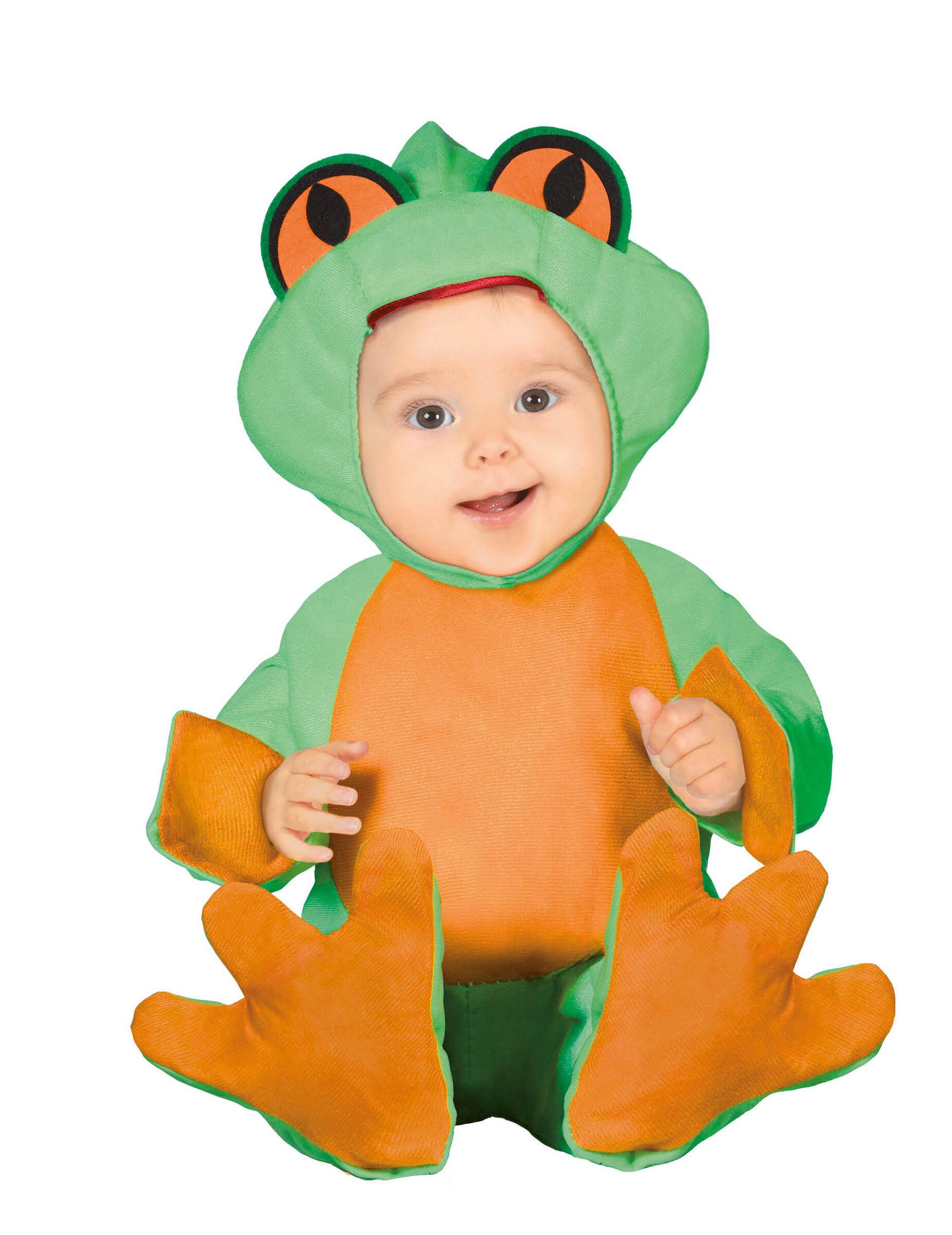 Deguisetoi Déguisement petite grenouille bébé - Taille: 6 à 12 mois (82-83 cm)
