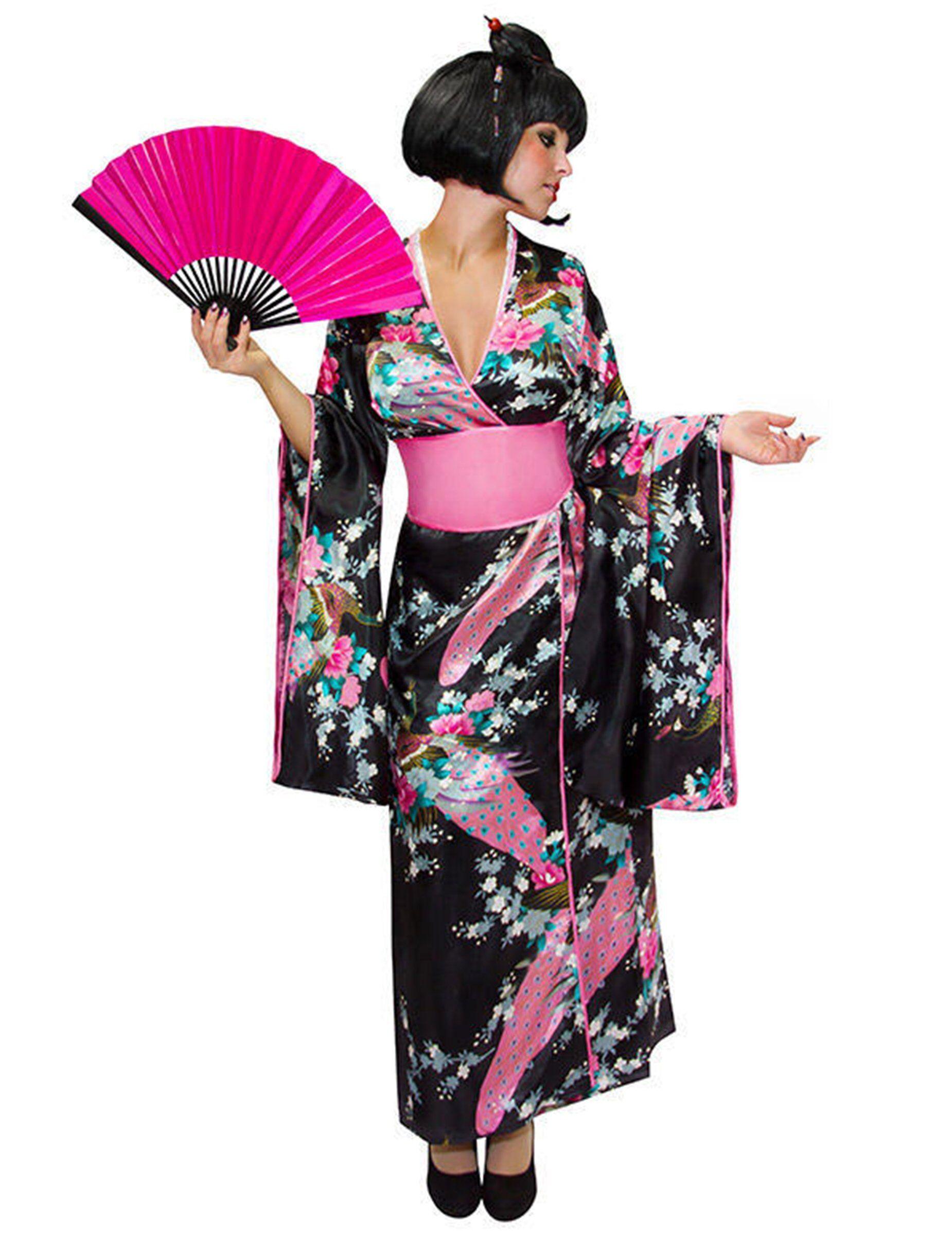 Deguisetoi Déguisement kimono japonais femme - Taille: S / M