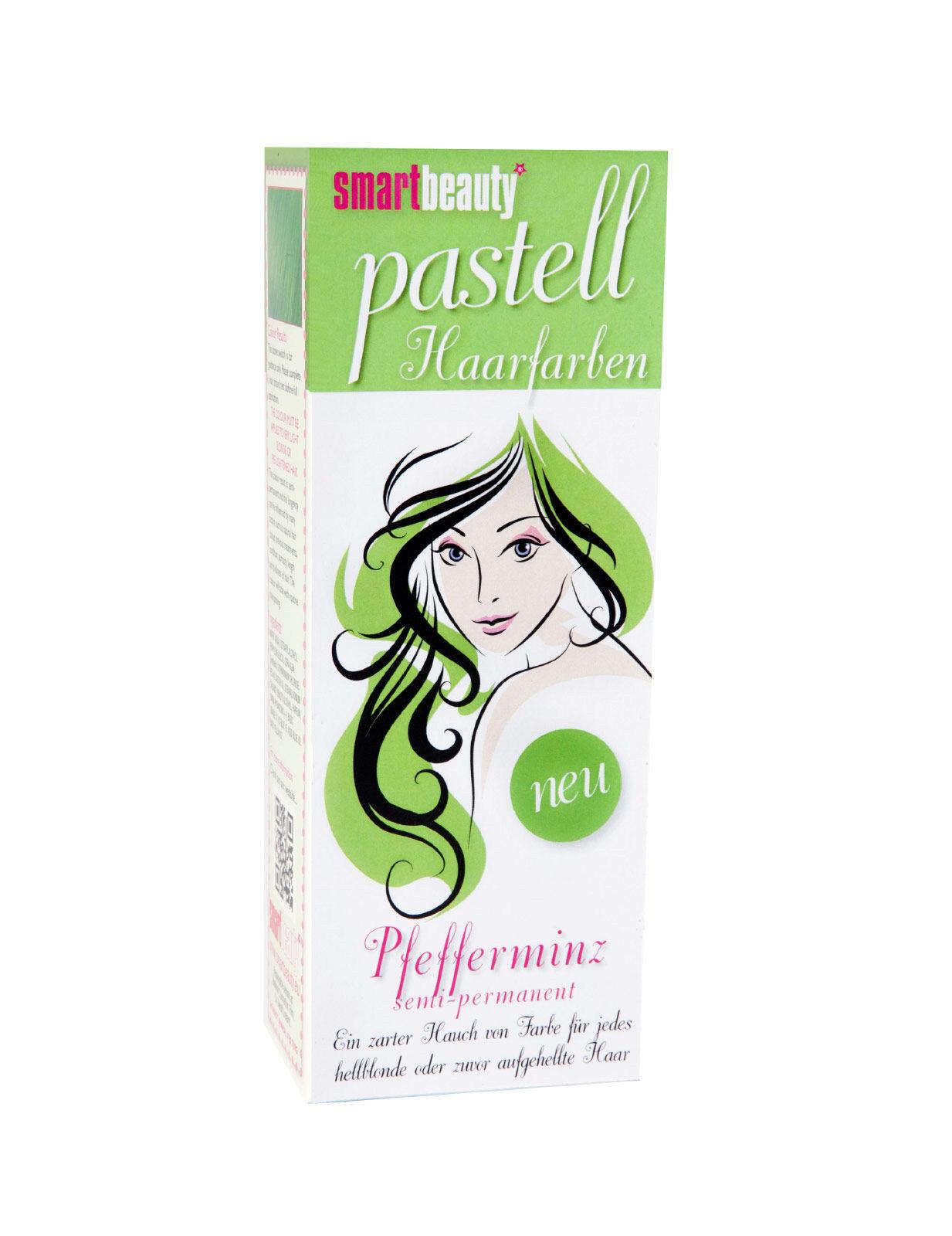 Deguisetoi Teinture cheveux vert clair Smart Beauty semi-permanent