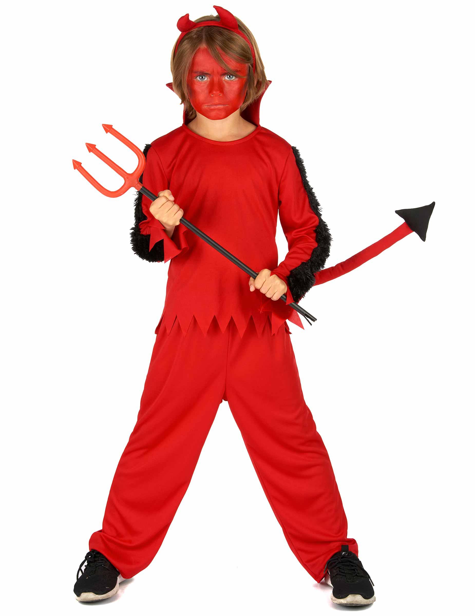 Deguisetoi Déguisement Diable Garçon Halloween - Taille: 5 - 6 ans (S)