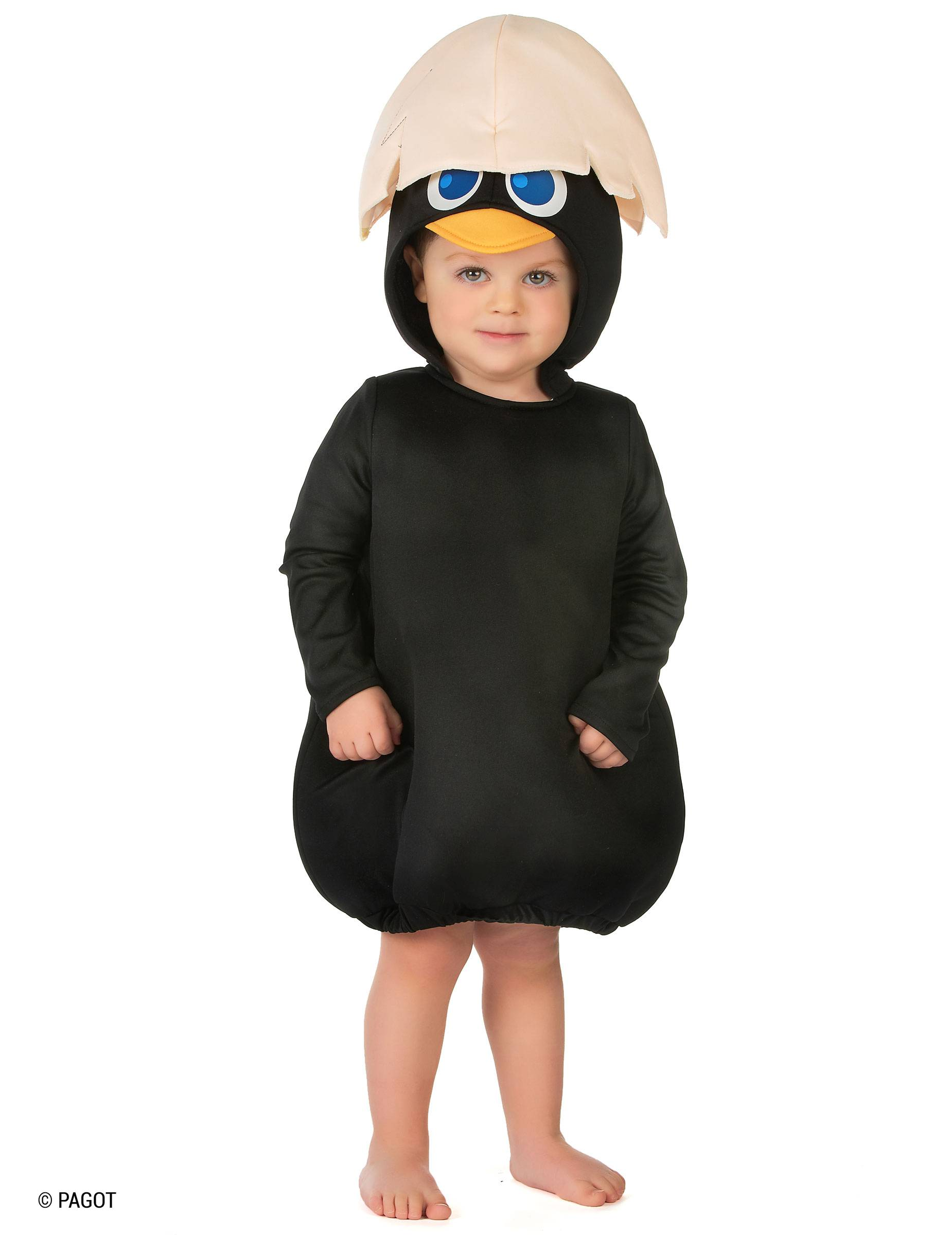 Deguisetoi Déguisement Calimero bébé - Taille: 6 à 12 mois (67 à 74cm)