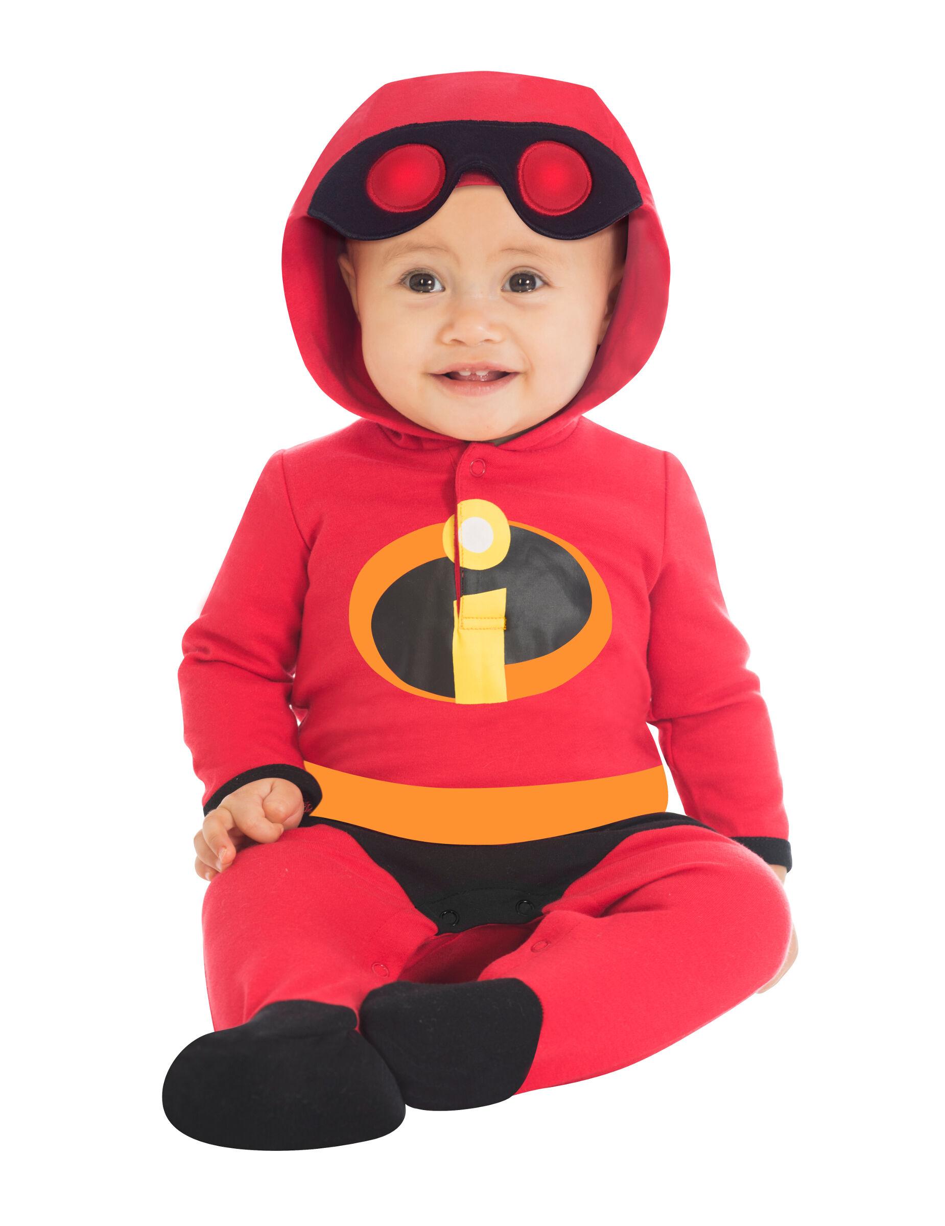 Deguisetoi Déguisement bébé Jack Jack Les indestructibles - Taille: 0 à 3 mois