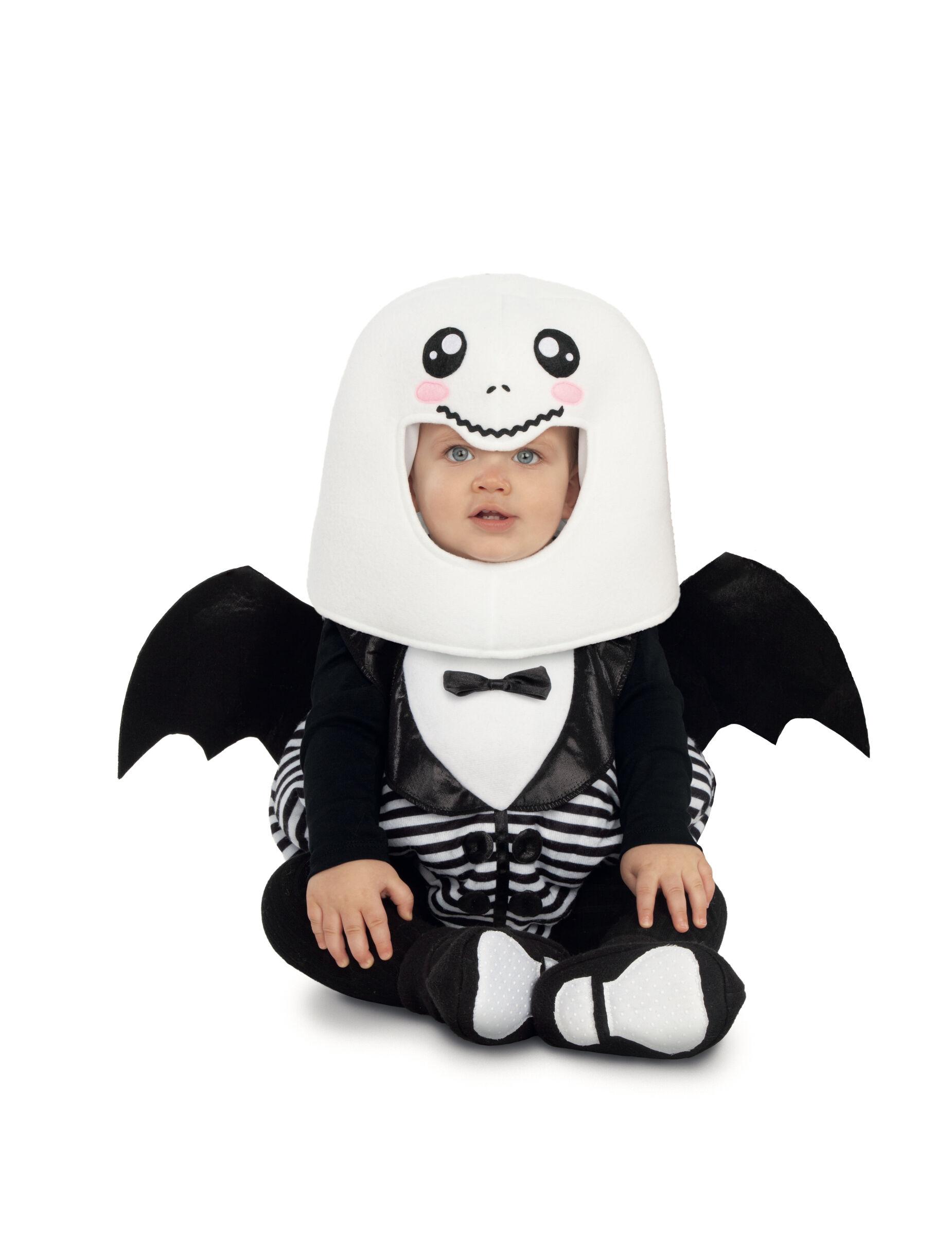 Deguisetoi Déguisement combinaison ballon fantôme bébé - Taille: 7 - 12 mois (74 - 80 cm)