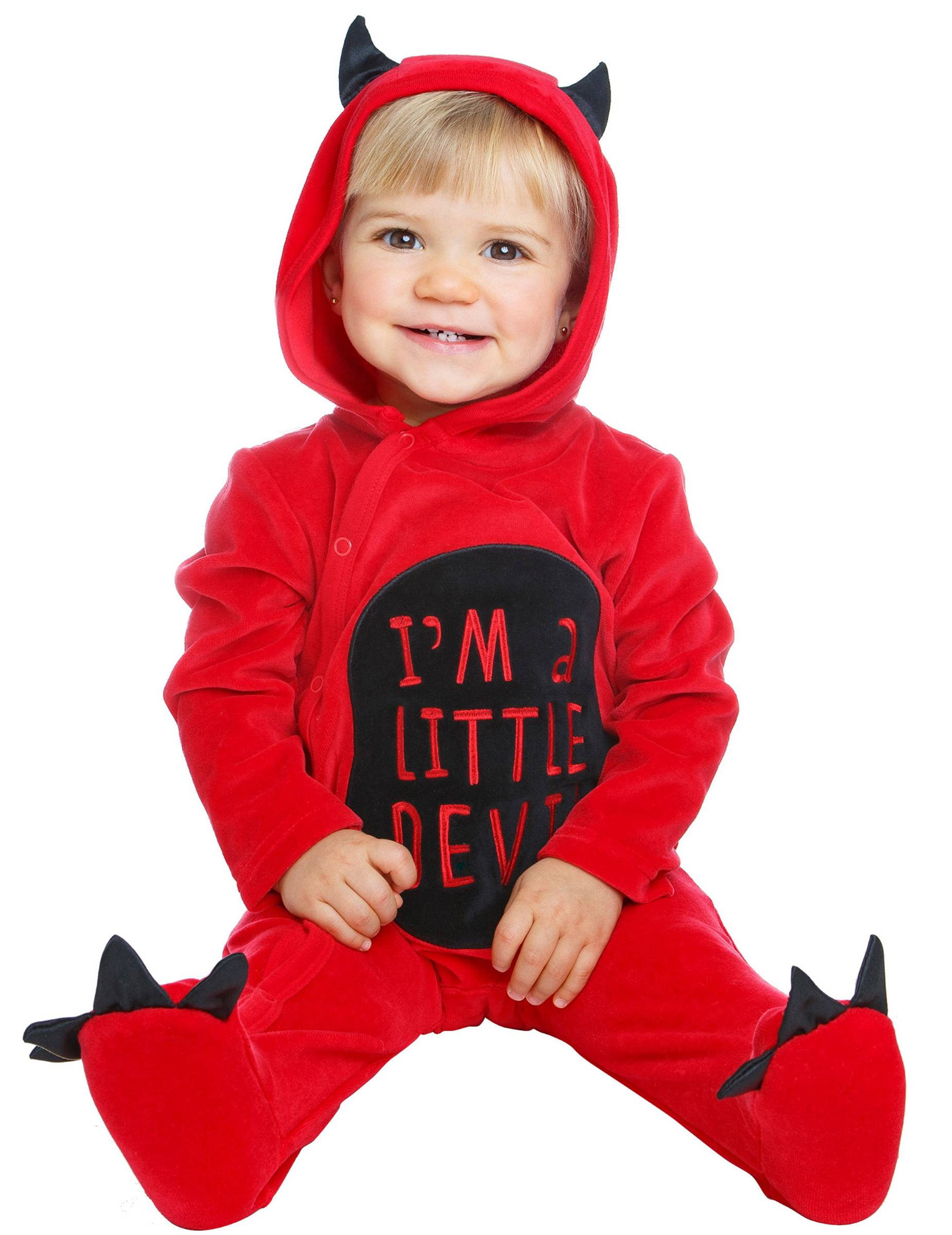 Deguisetoi Déguisement je suis un petit diable bébé - Taille: 7 - 12 mois (74 - 80 cm)