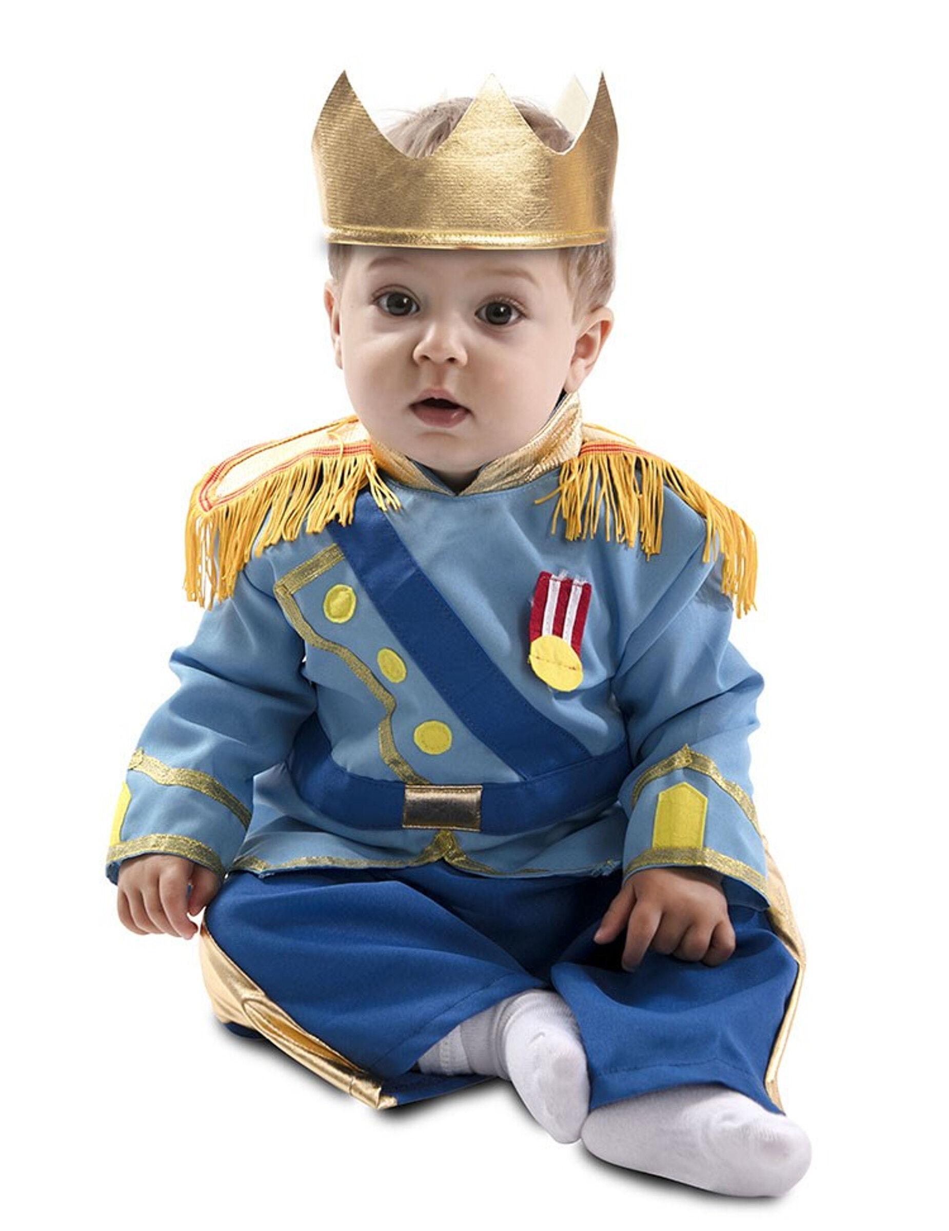 Deguisetoi Déguisement petit prince bleu bébé - Taille: 6 à 12 mois (67-69 cm)