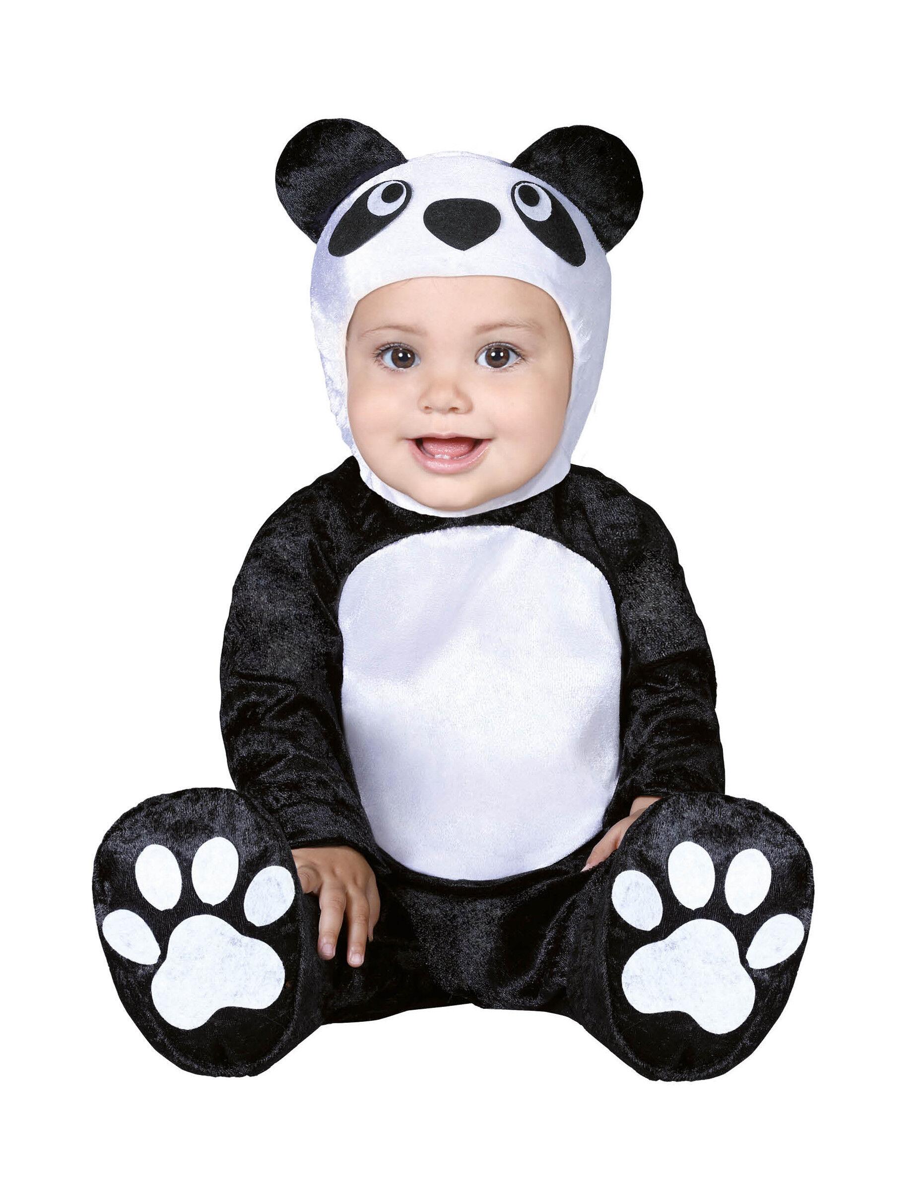 Deguisetoi Déguisement petit panda bébé - Taille: 6 à 12 mois (82-83 cm)