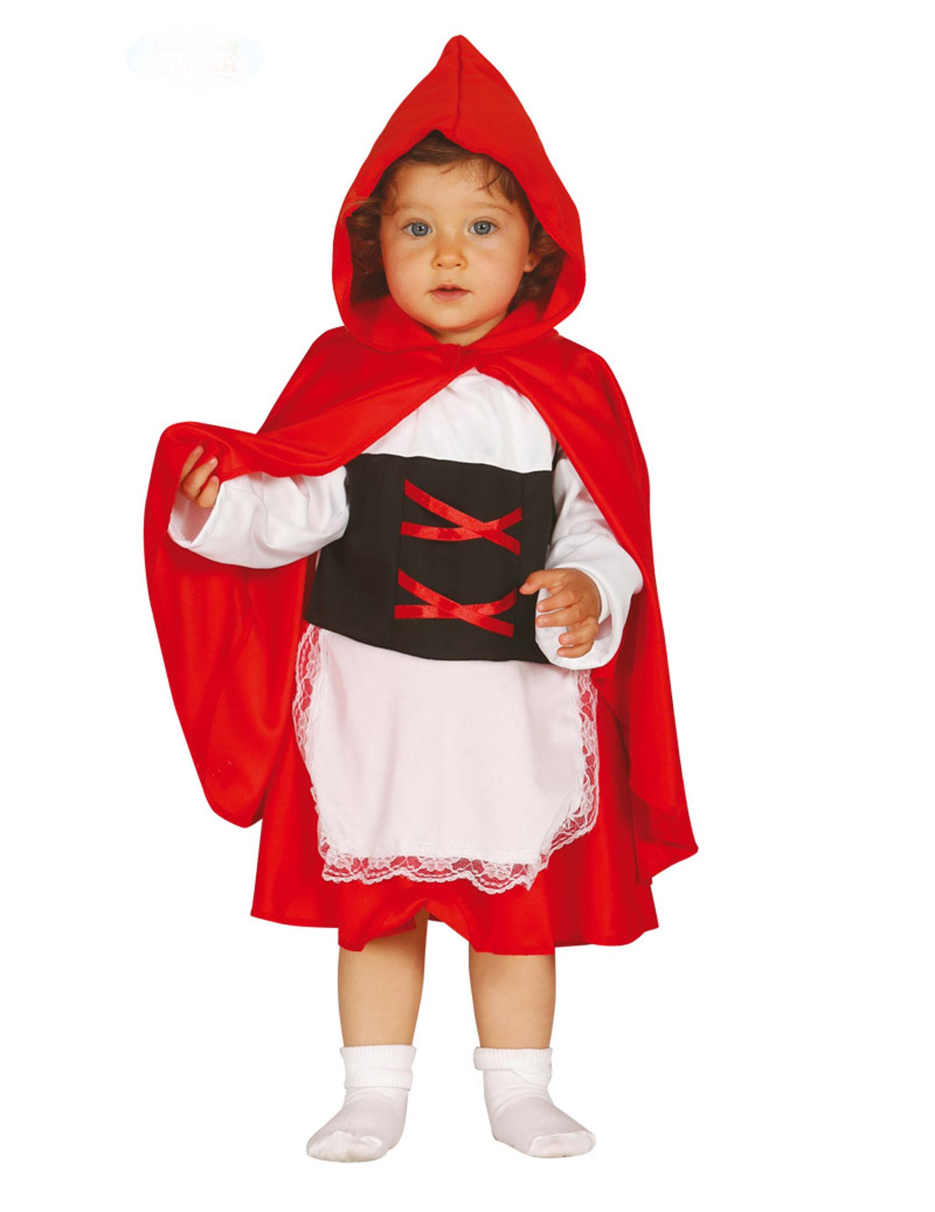 Deguisetoi Déguisement chaperon rouge bébé - Taille: 6 à 12 mois (82-83 cm)