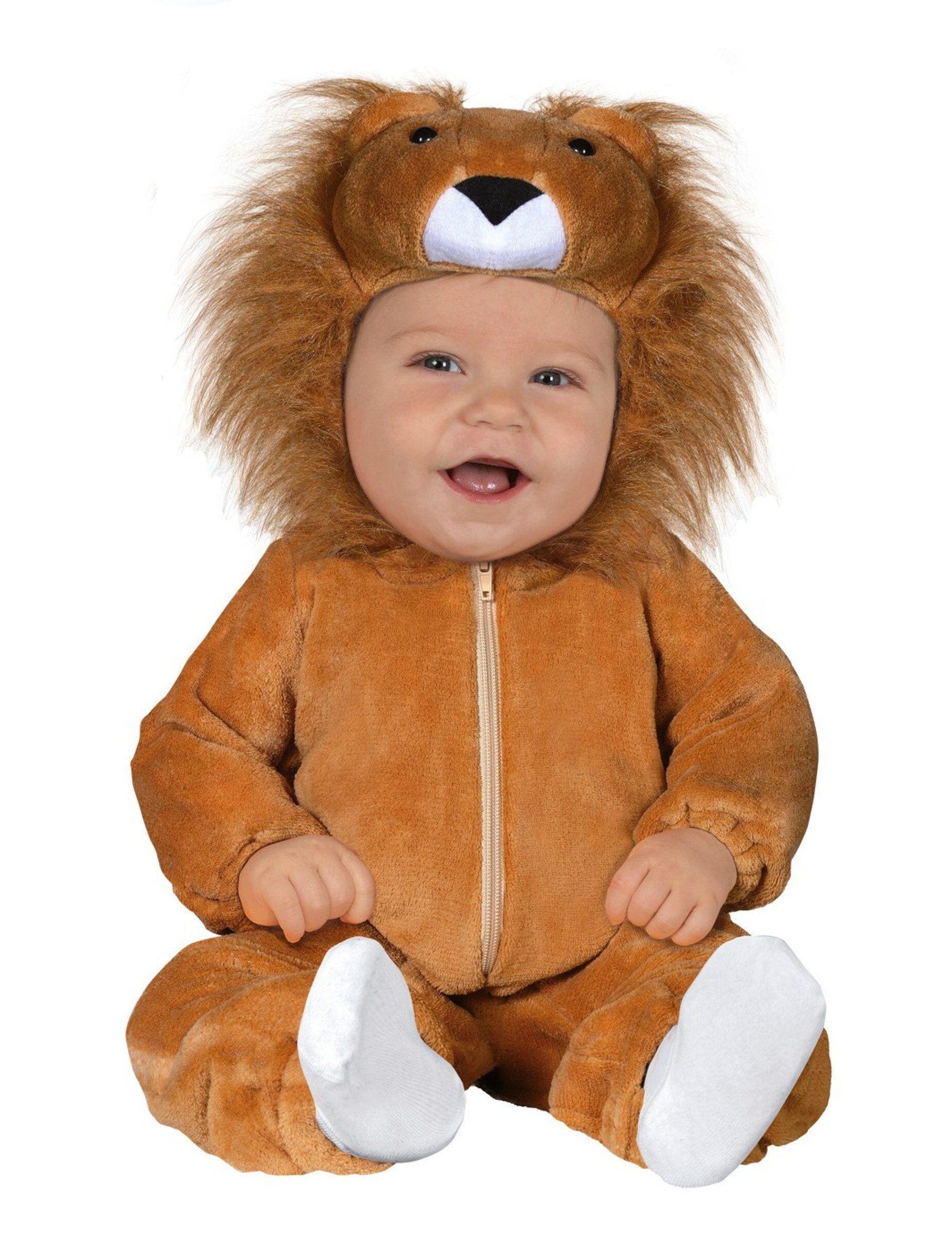 Deguisetoi Déguisement lion bébé - Taille: 6 à 12 mois (82-83 cm)