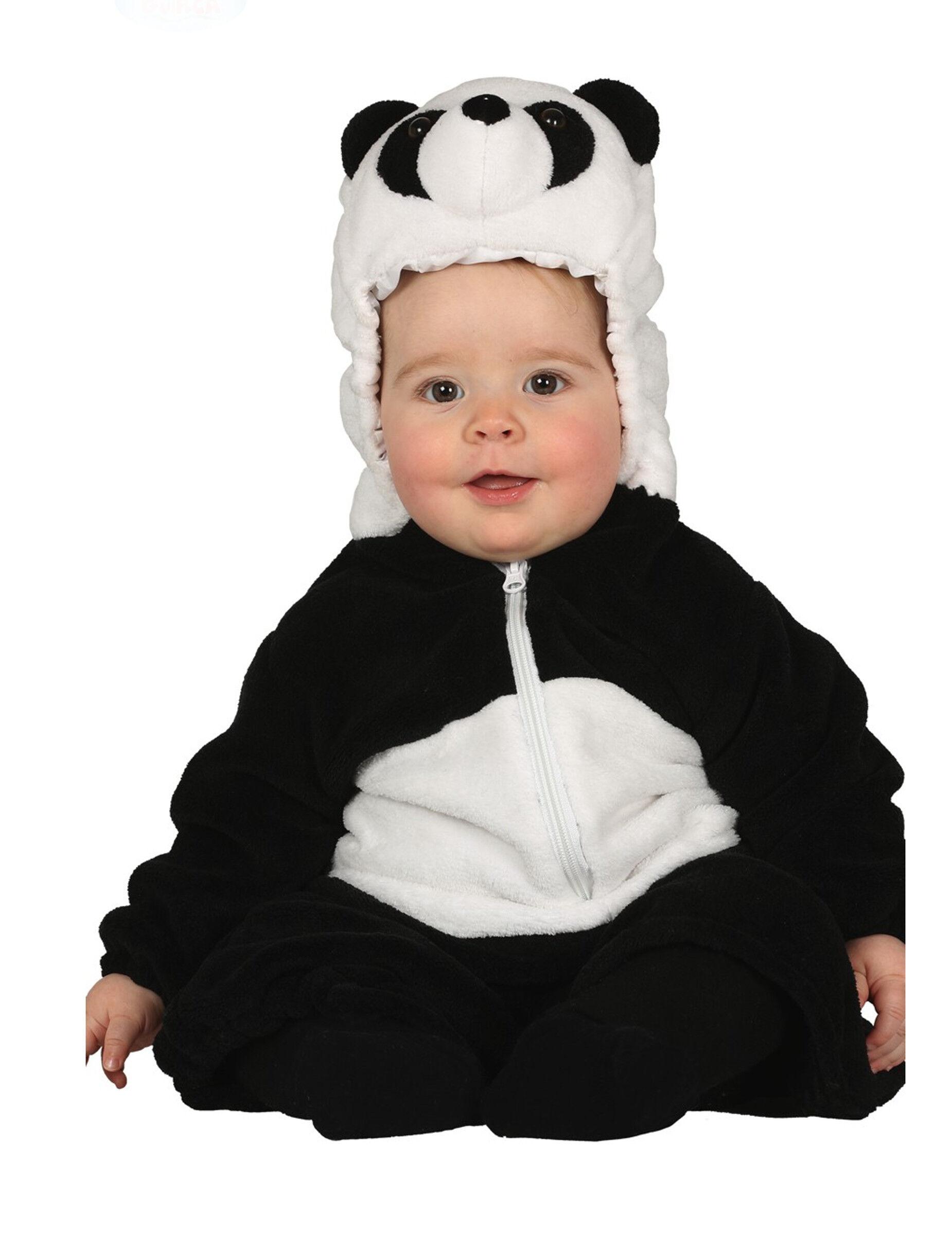 Deguisetoi Déguisement panda bébé - Taille: 6 à 12 mois (82-83 cm)