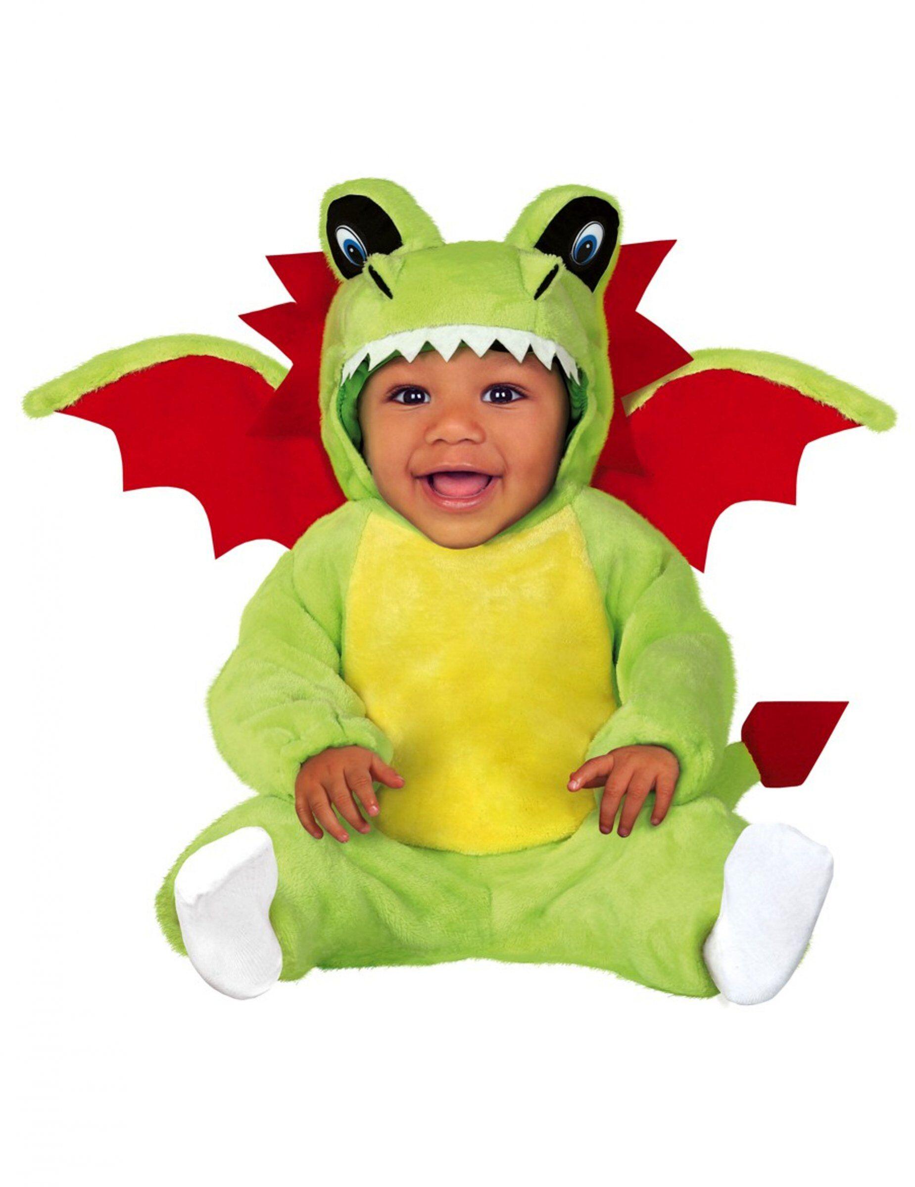 Deguisetoi Déguisement dragon bébé - Taille: 6 à 12 mois (82-83 cm)