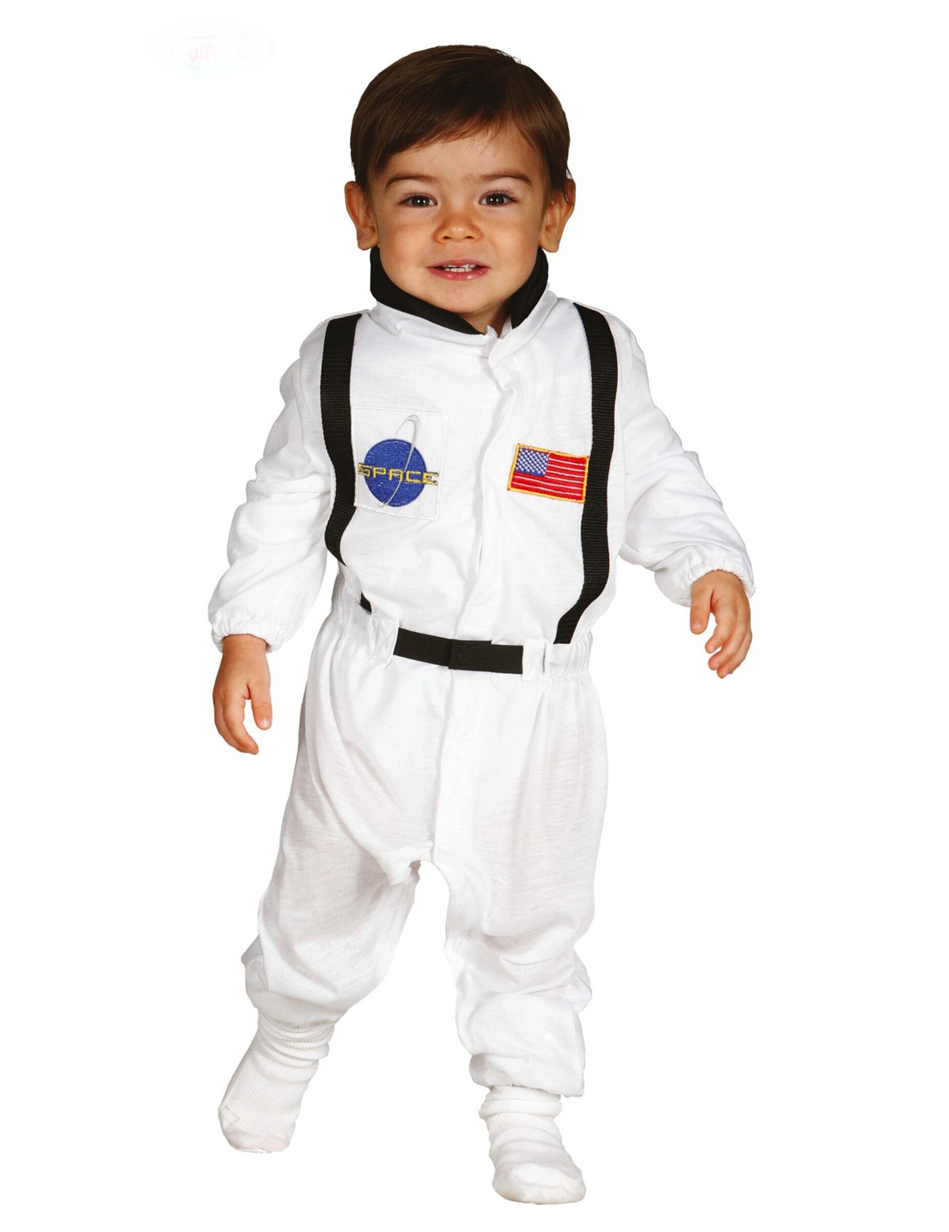 Deguisetoi Déguisement astronaute bébé - Taille: 6 à 12 mois (82-83 cm)