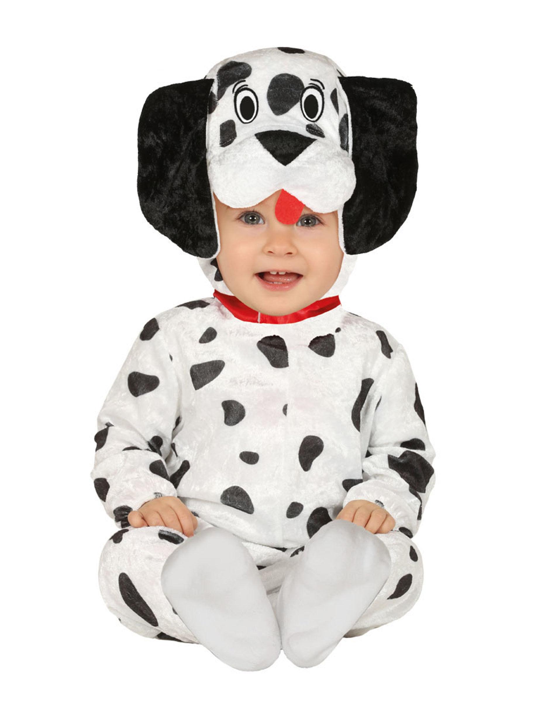 Deguisetoi Déguisement dalmatien bébé - Taille: 6 à 12 mois (82-83 cm)