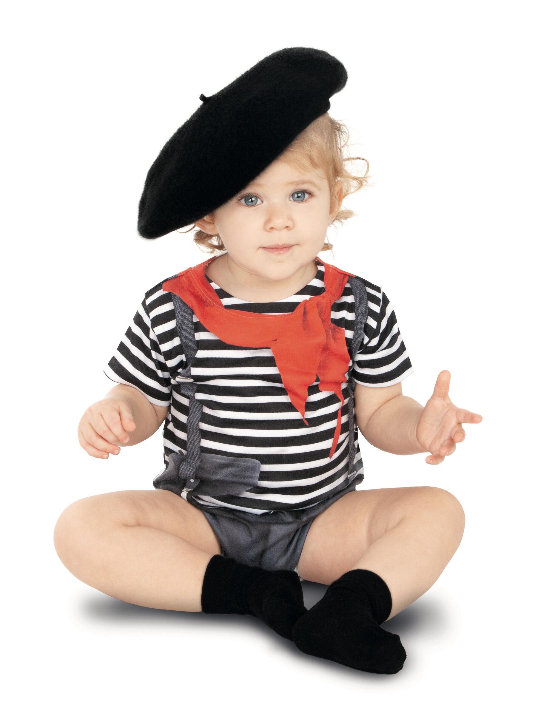 Deguisetoi Déguisement body mime bébé - Taille: 12 - 18 mois (80 cm)