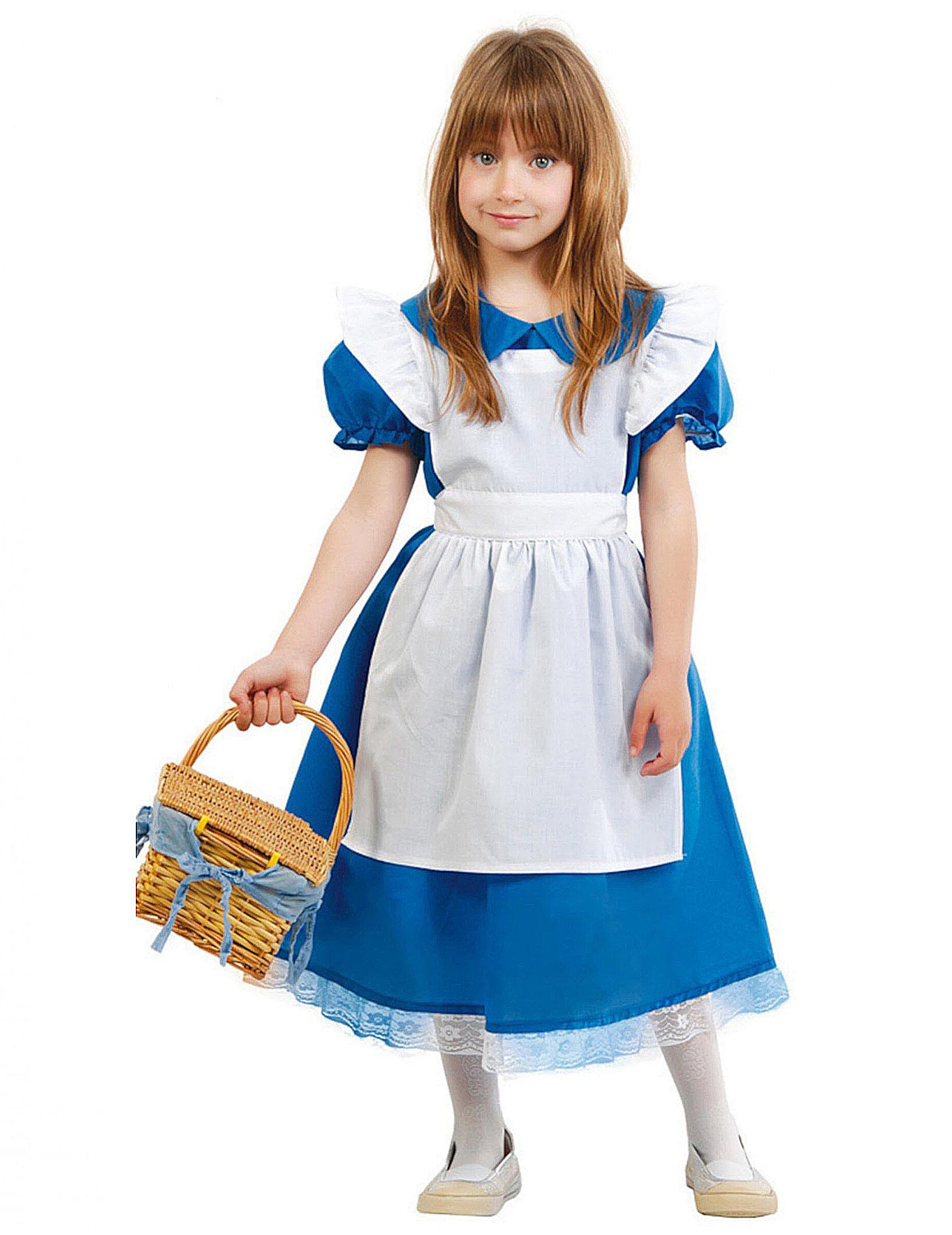 Deguisetoi Déguisement princesse merveilleuse fille - Taille: 5 à 6 ans (110-115 cm)