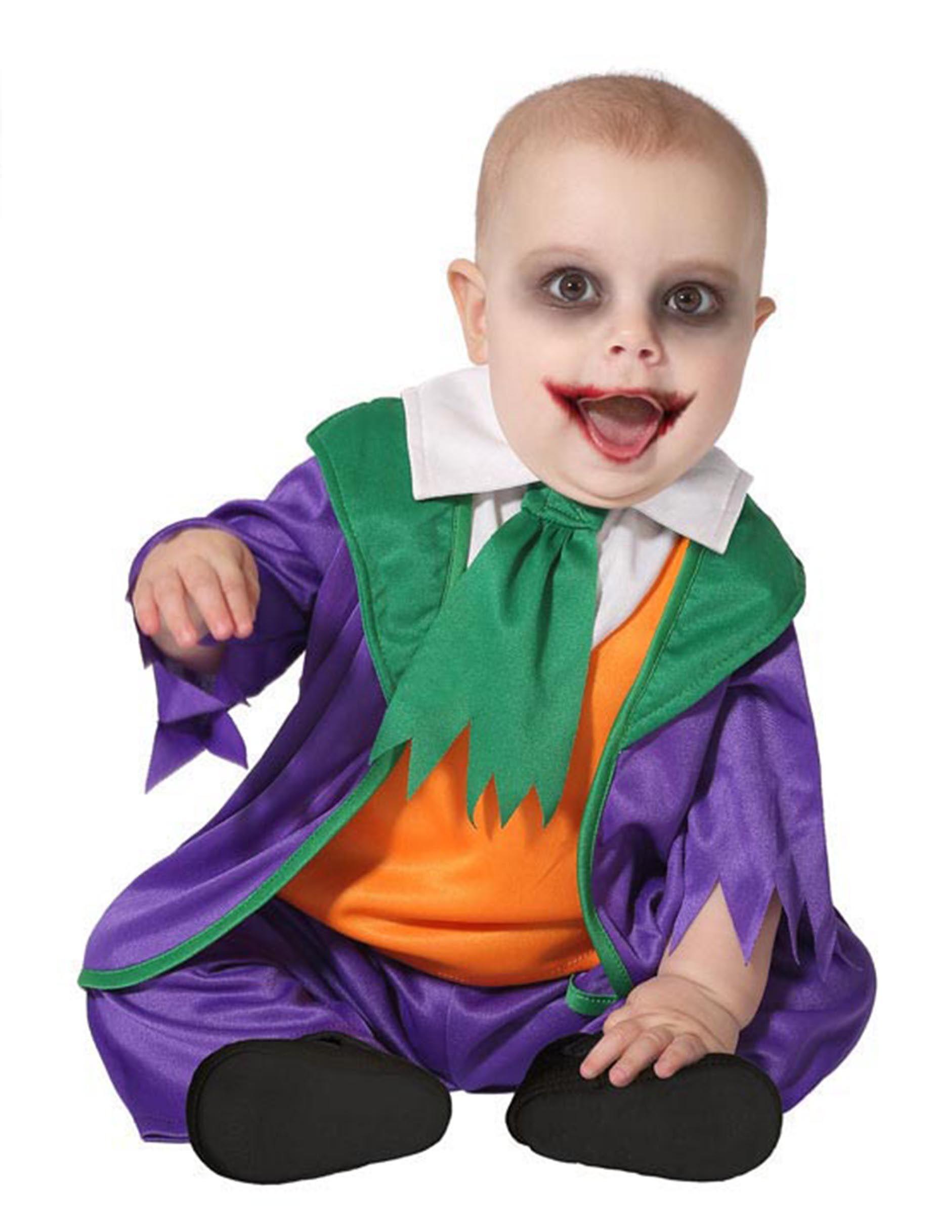 Deguisetoi Déguisement petit clown fou bébé - Taille: 6-12 mois (75 cm)