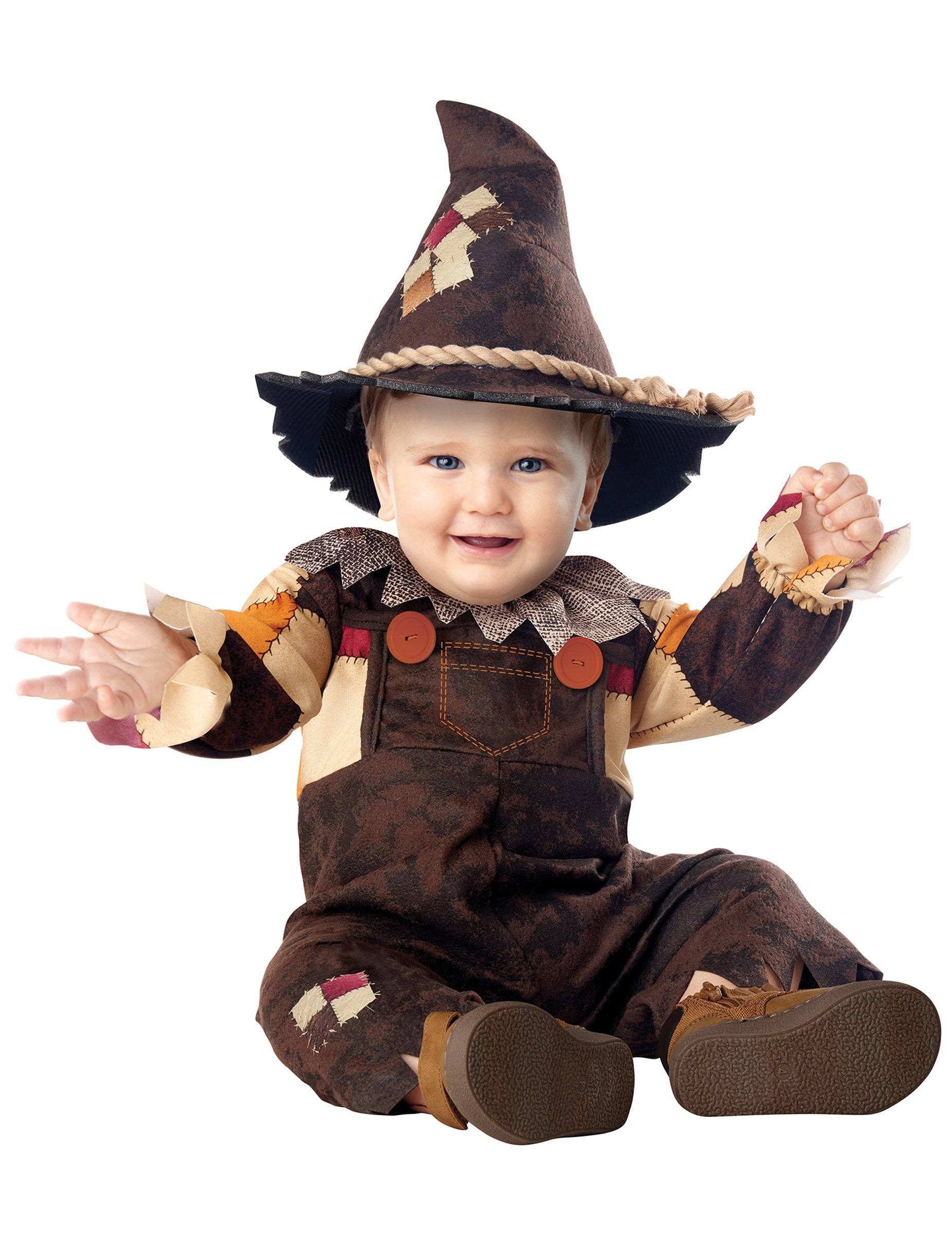 Deguisetoi Déguisement joyeux épouvantail bébé - Taille: 18-24 mois (86cm)