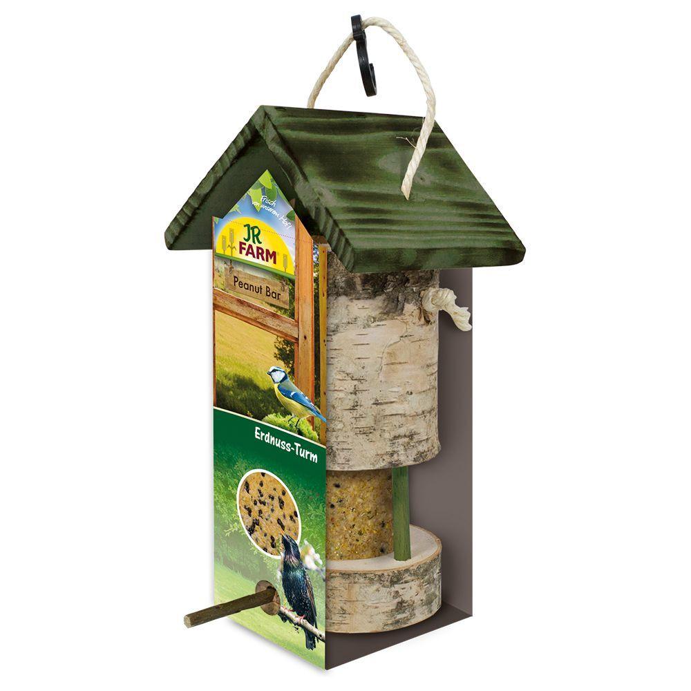 JR Farm Mangeoire JR Garden Peanut Bar + recharge pour oiseaux