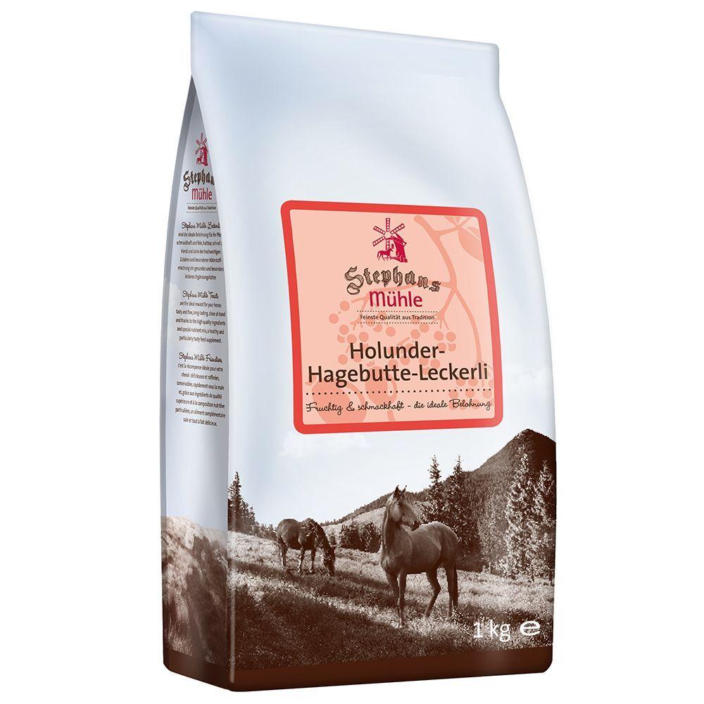 Stephans Mühle 3x1kg Stephans Mühle Friandises sureau/cynorrhodon pour cheval
