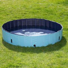 zooplus Exclusive Piscine pour Chien 120x30cm avec bâche Dog Pool Keep Cool