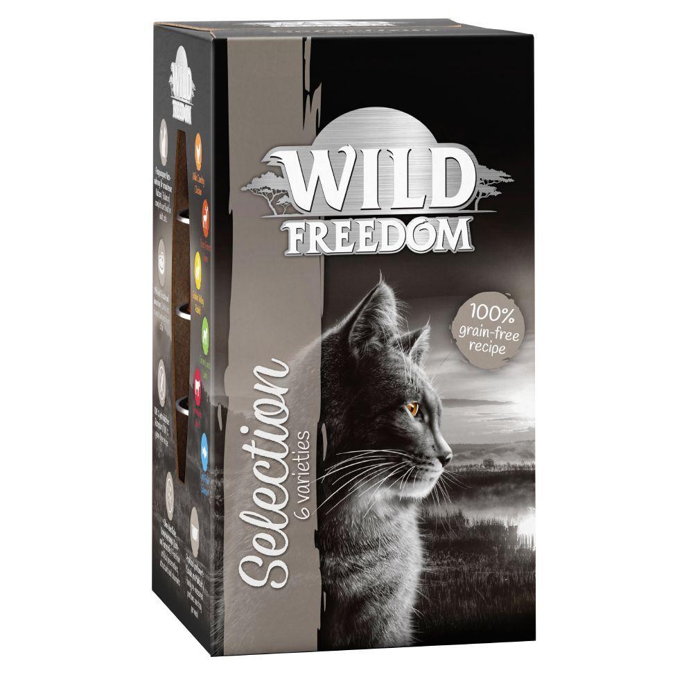 Wild Freedom 6x85g Adult Cold River saumon, poulet Wild Freedom - Pâtée pour chat