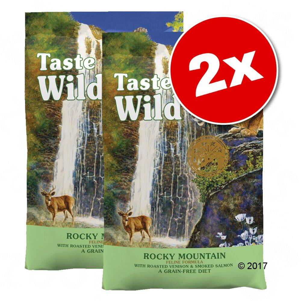 Taste of the Wild 2x6,6kg Taste of the Wild Canyon River Feline - Croquettes pour chat