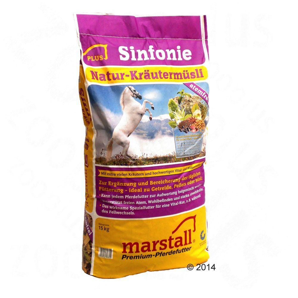 Marstall 2x15 kg Marstall Sinfonie Muesli aux herbes pour cheval - Muesli aux herbes pour cheval