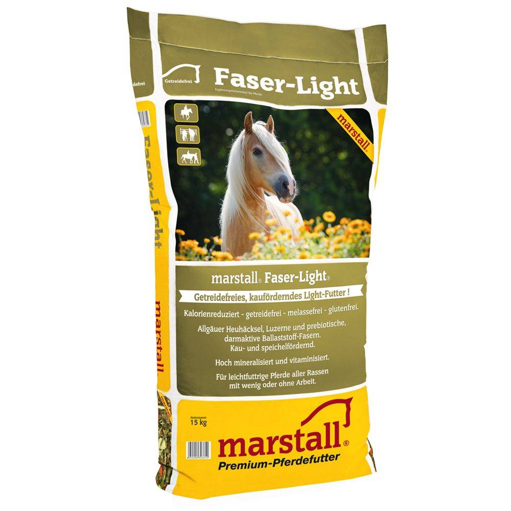 Marstall 2x15kg Marstall Faser Light - Nourriture pour cheval