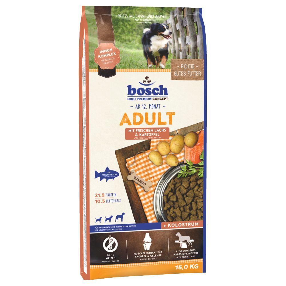 Bosch High Premium concept 2x15kg bosch Adult saumon, pommes de terre - Croquettes pour chien