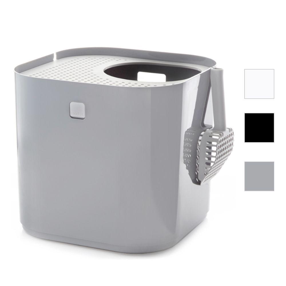 Modkat - Maison de toilette pour chat - Blanc