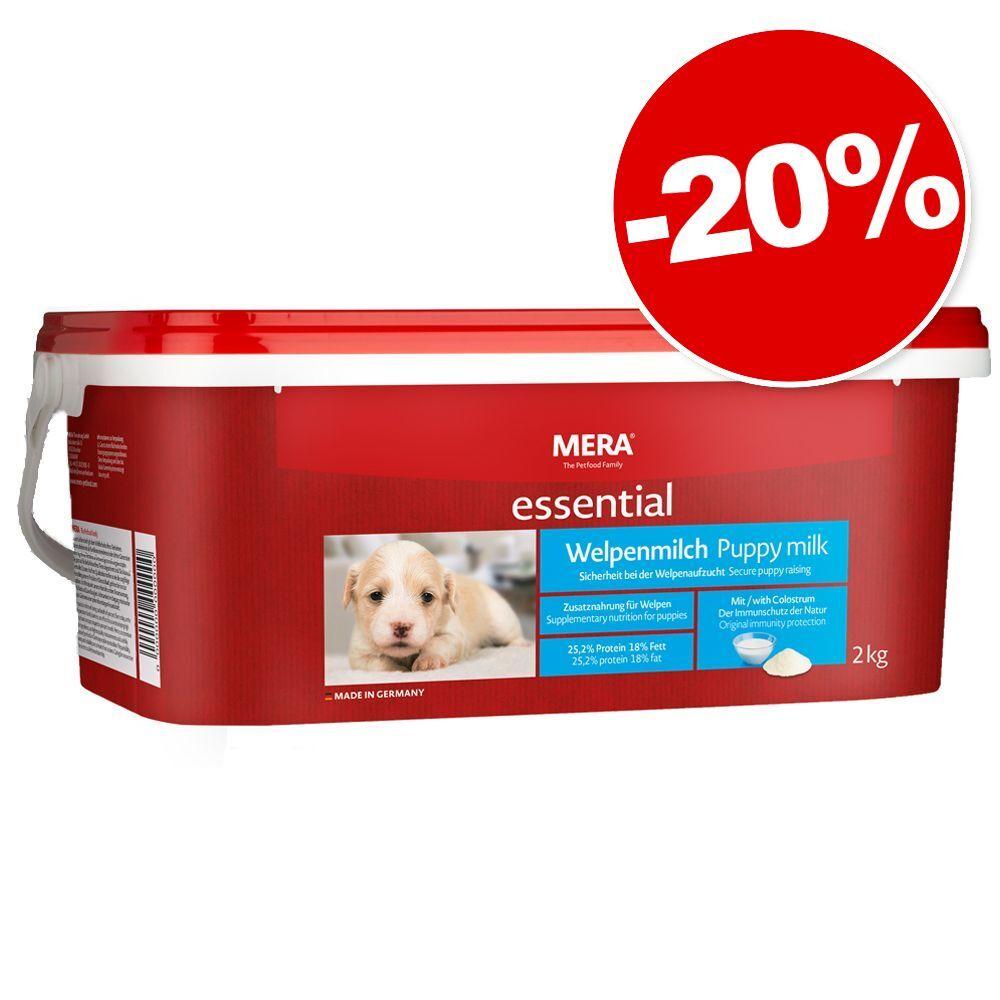 MERA essential Lait pour chiot 2 kg : 20 % de remise ! - 2 kg