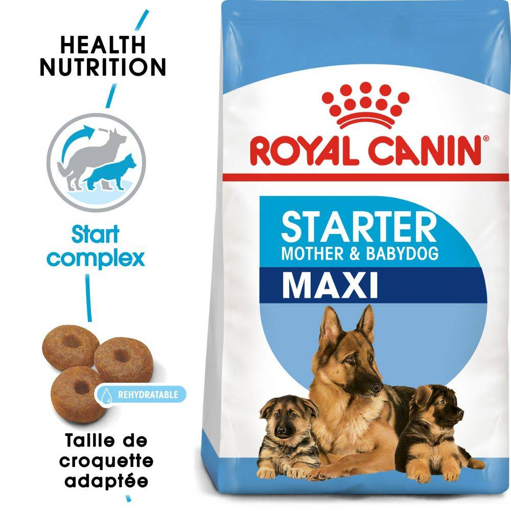 Royal Canin Size 2x15kg Maxi Starter Mother & Babydog Royal Canin - Croquettes pour chien