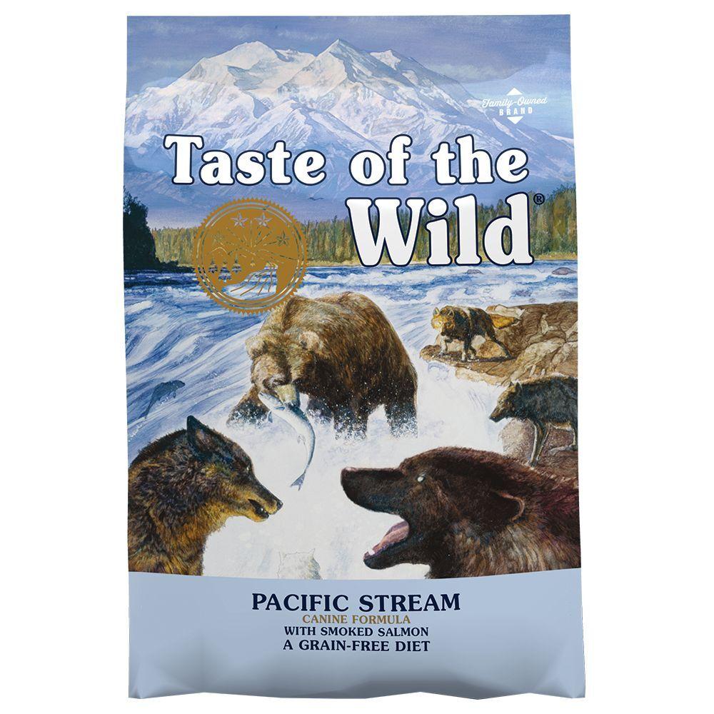 Taste of the Wild 2x12,2kg Pacific Stream Taste of the Wild - Croquettes pour chien