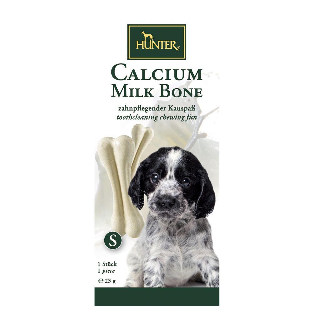 Hunter 54g Hunter Calcium Milk Bone, os à mâcher 3 x 1 os de - Friandises pour chien