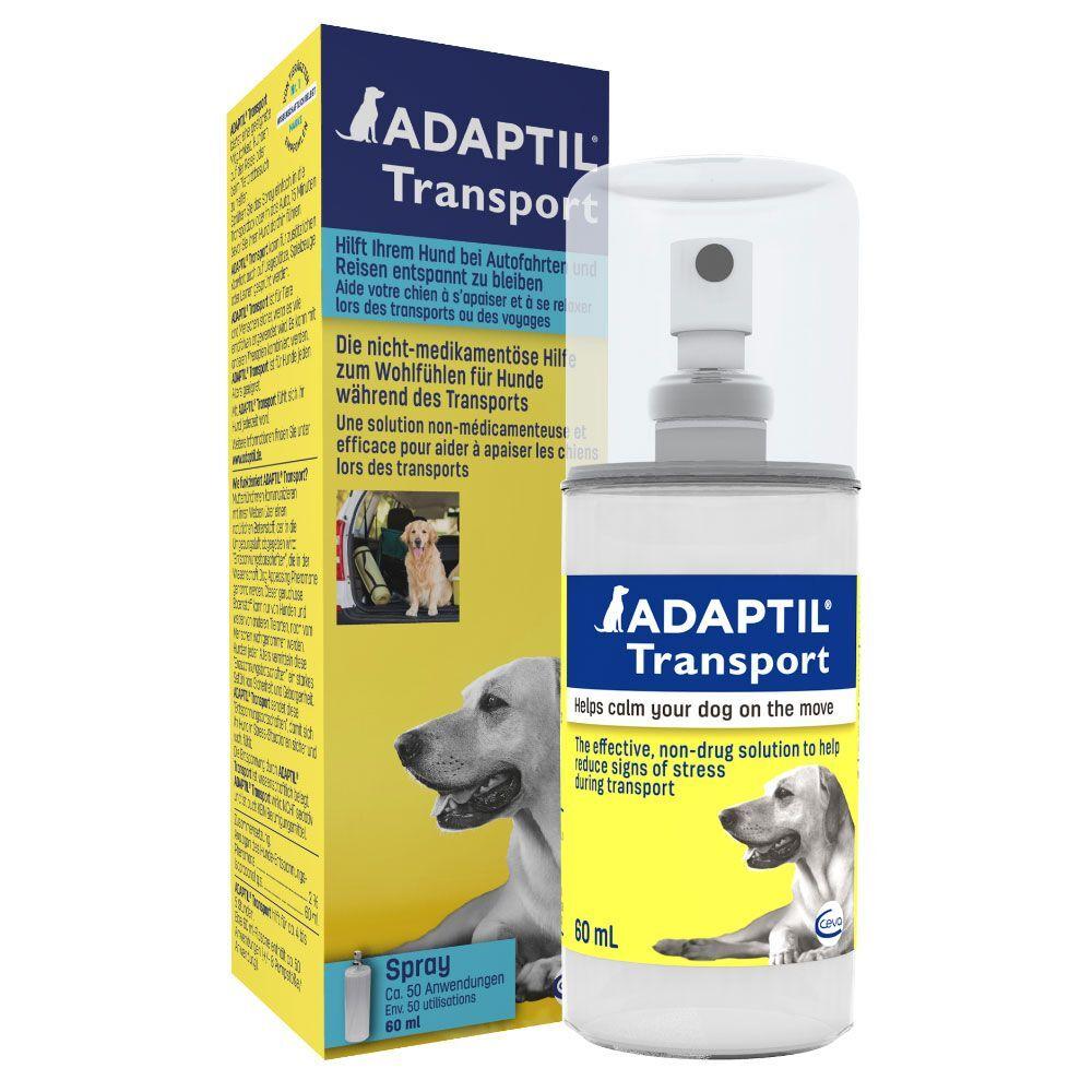 Adaptil 60mL Spray Adaptil pour chien - Anti-stress et premiers soins pour Chien