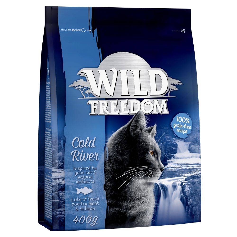 Wild Freedom 3x2kg Adult Cold River saumon Wild Freedom - Croquettes pour Chat