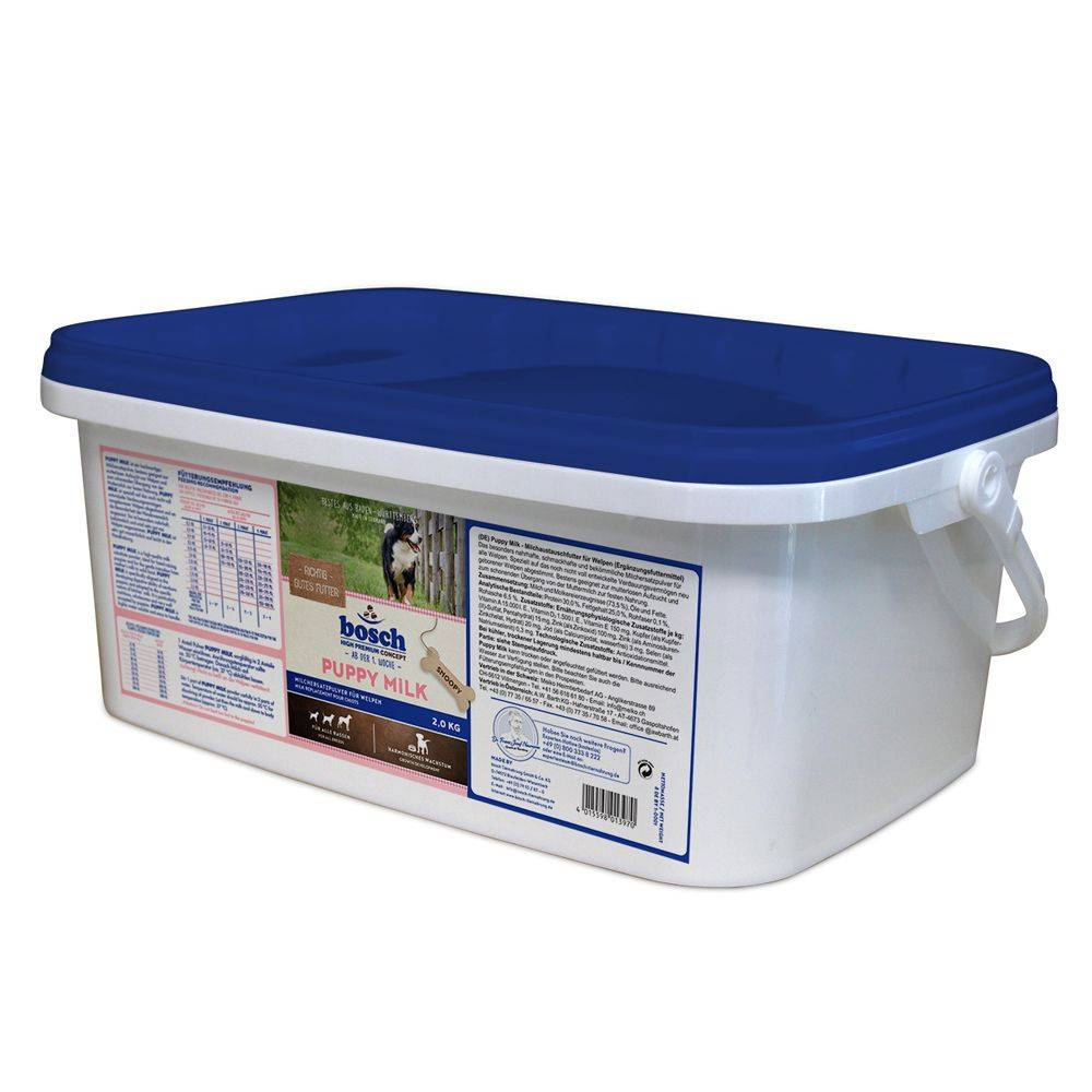 Bosch High Premium concept 2kg bosch® Lait pour chiot - Croquettes pour chien