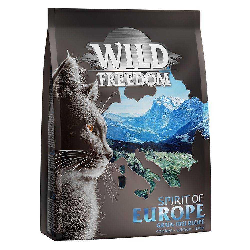 Wild Freedom 3x2kg Wild Freedom Spirit of Europe - Croquettes pour chat