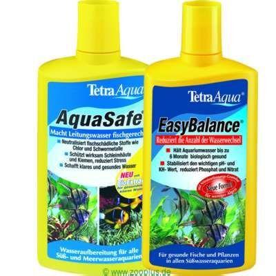 Tetra Kit d'entretien de l'eau pour aquarium Tetra - 500 mL + 500 mL