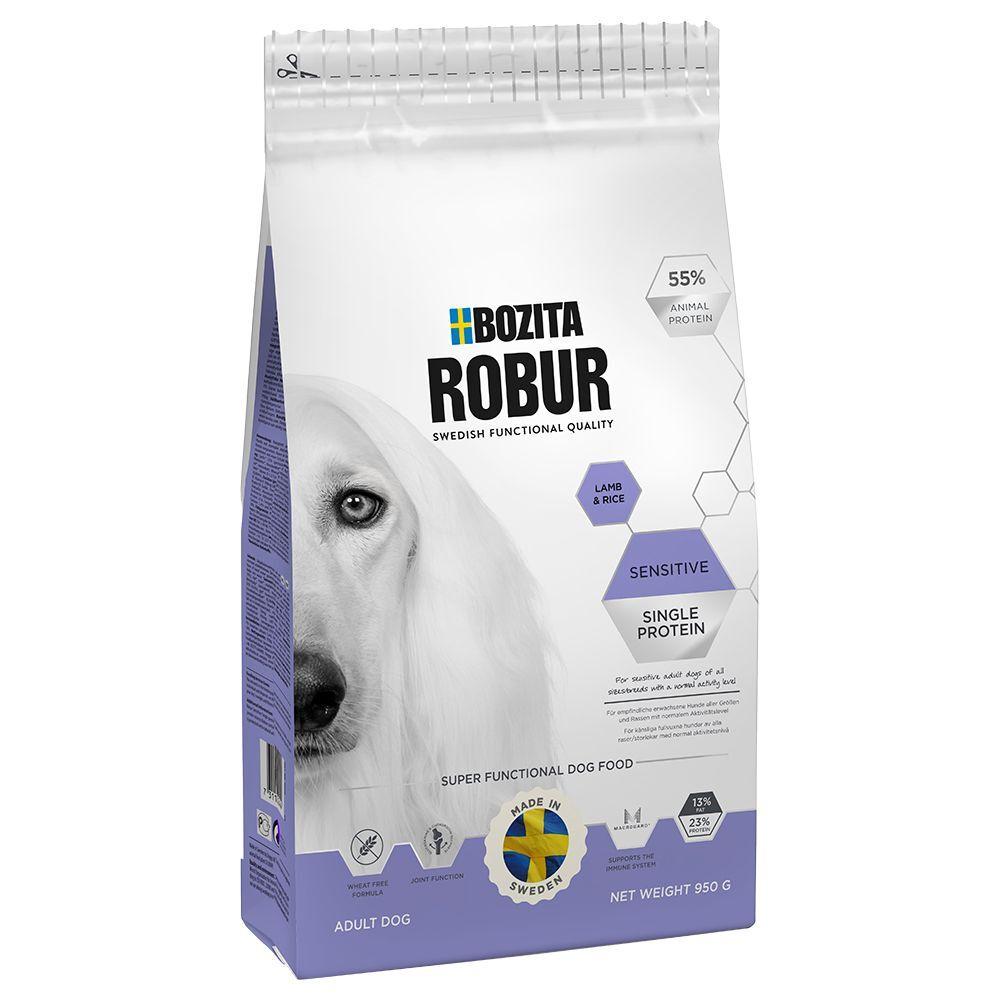 Bozita Robur 15kg Sensitive Single Protein agneau riz Bozita Robur - Croquettes pour Chien