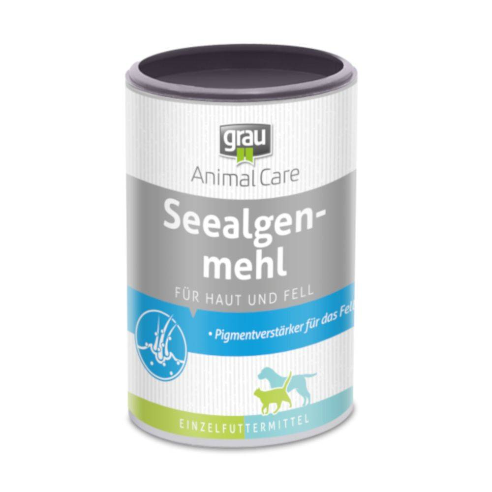 Grau 2x400g Farine d'algues marines pour chien et chat - Complément pour chien