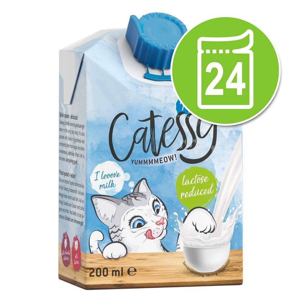 Catessy 24x200mL Lait Catessy pour chat