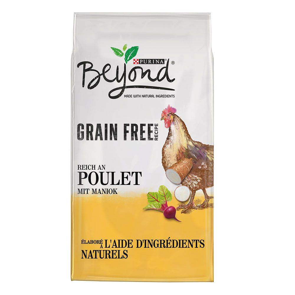 BEYOND 2x7kg Beyond Sans céréales poulet - Croquettes pour chien