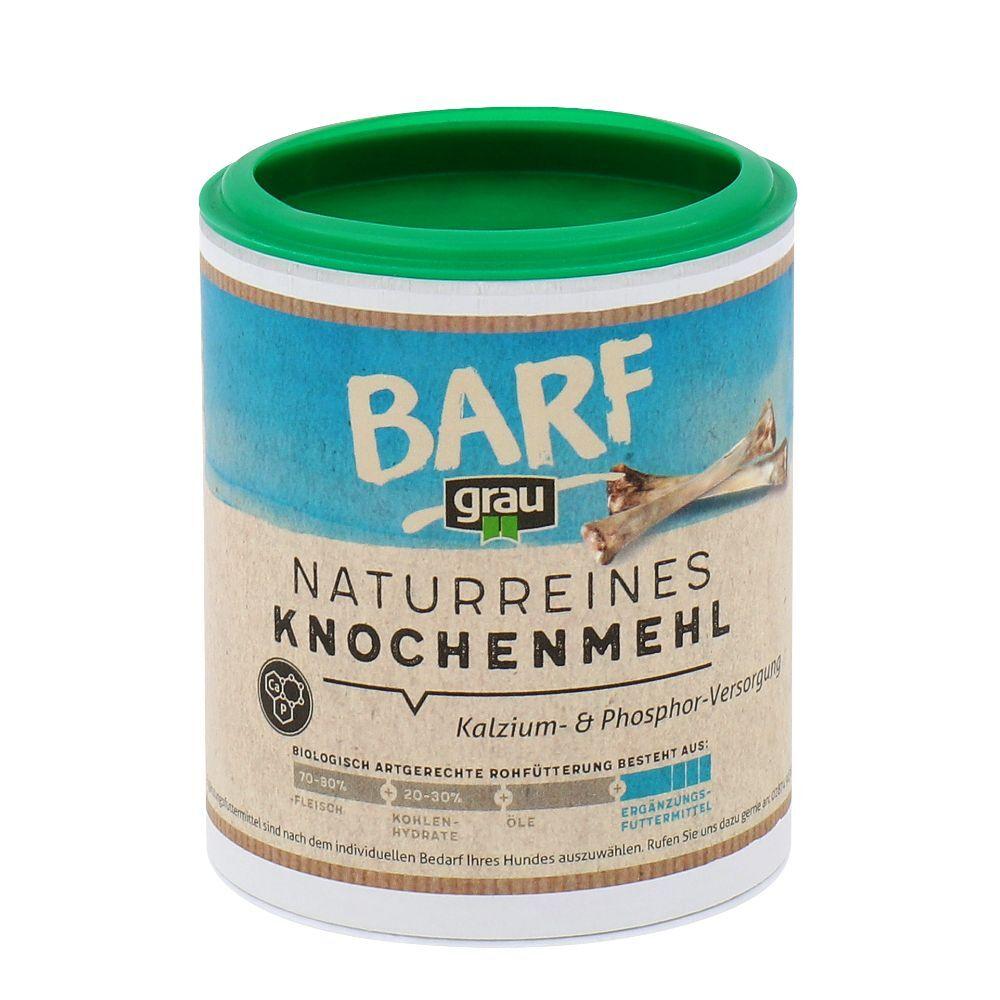 Grau 4x400g Farine d'os pour chien Grau - Compléments alimentaires pour Chien